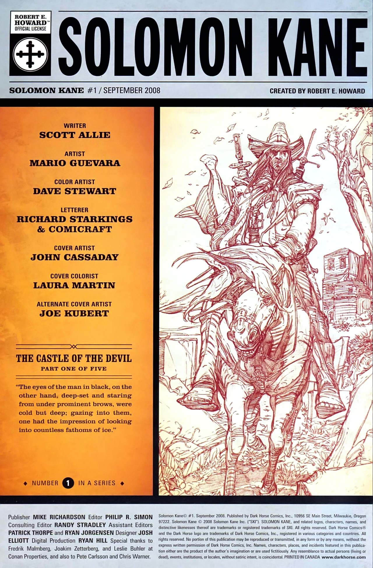 Read online Solomon Kane comic -  Issue #1 - 3