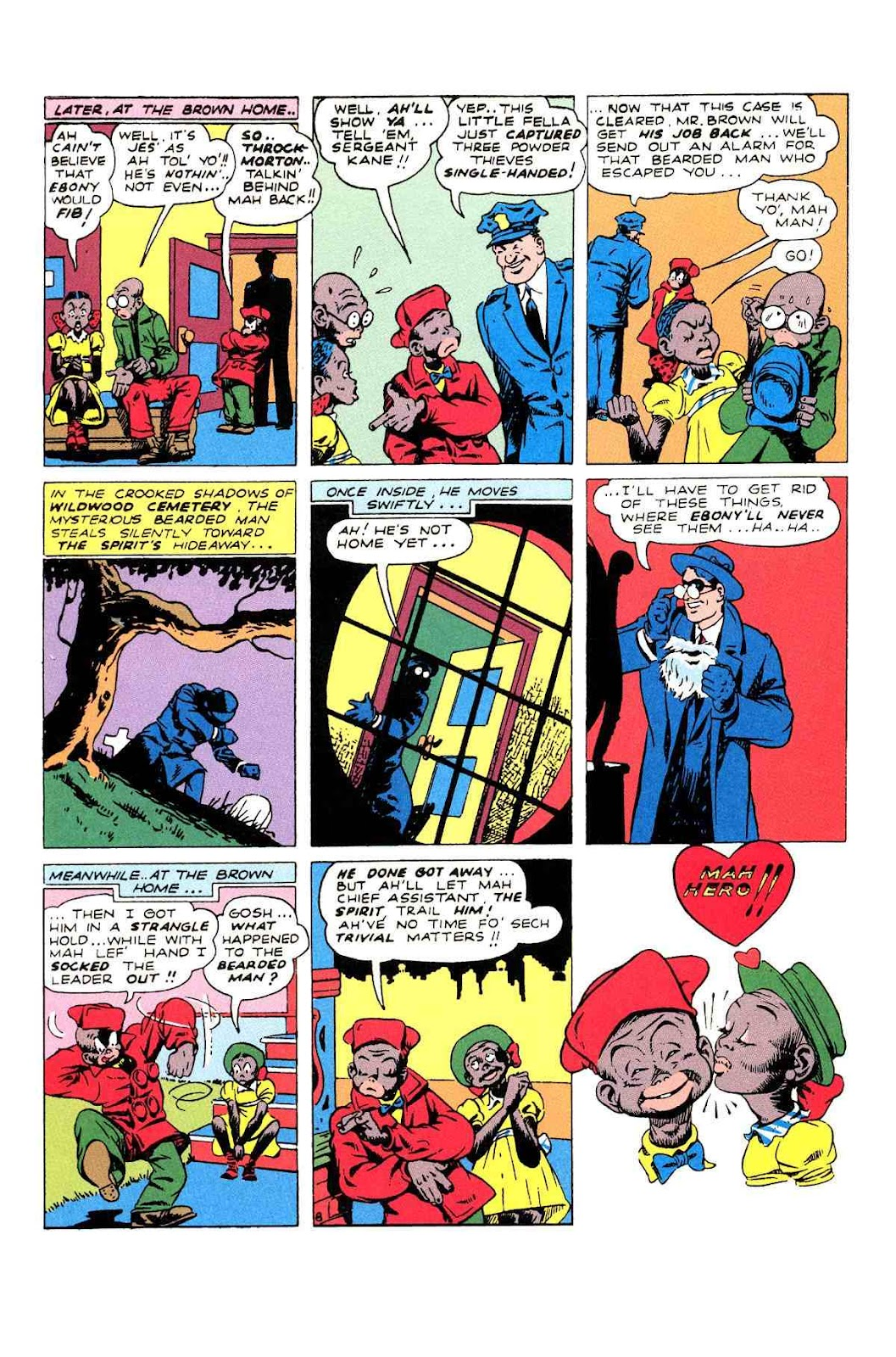 Read online Will Eisner's The Spirit Archives comic -  Issue # TPB 2 (Part 2) - 12