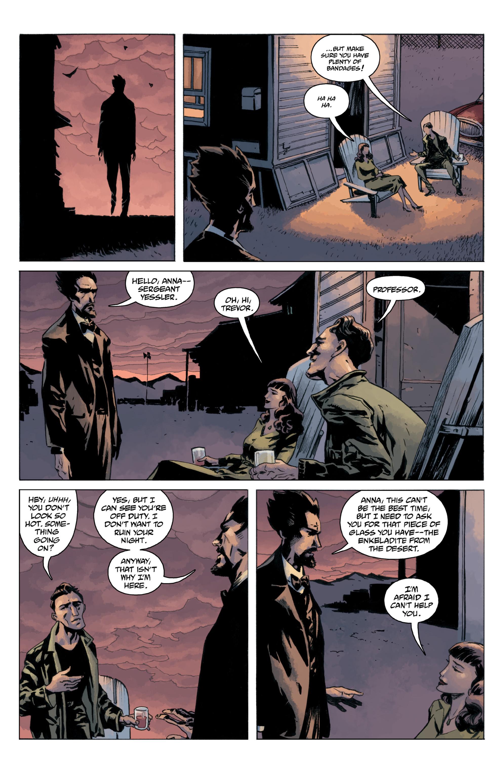 Read online B.P.R.D.: 1948 comic -  Issue # TPB - 117