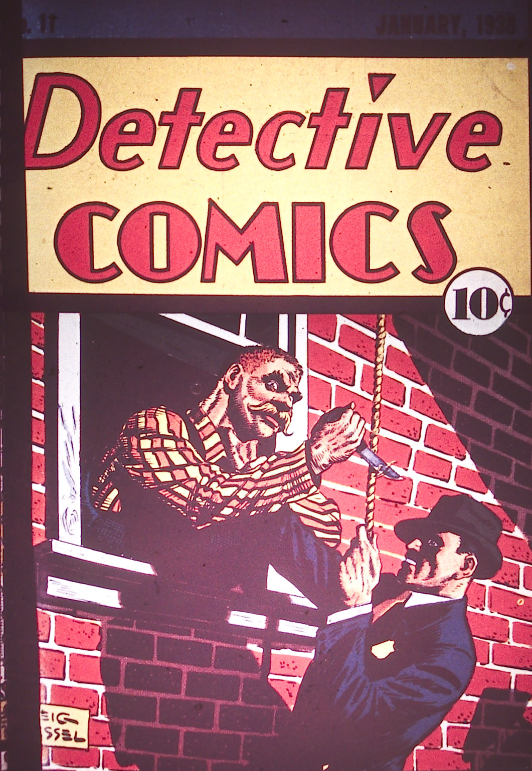 Read online Detective Comics (1937) comic -  Issue #11 - 1
