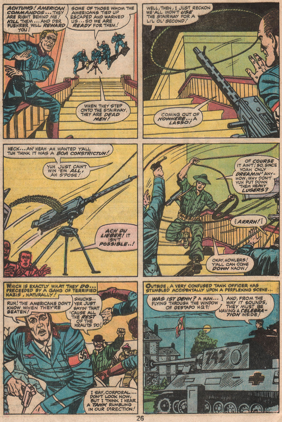Read online Sgt. Fury comic -  Issue #133 - 28