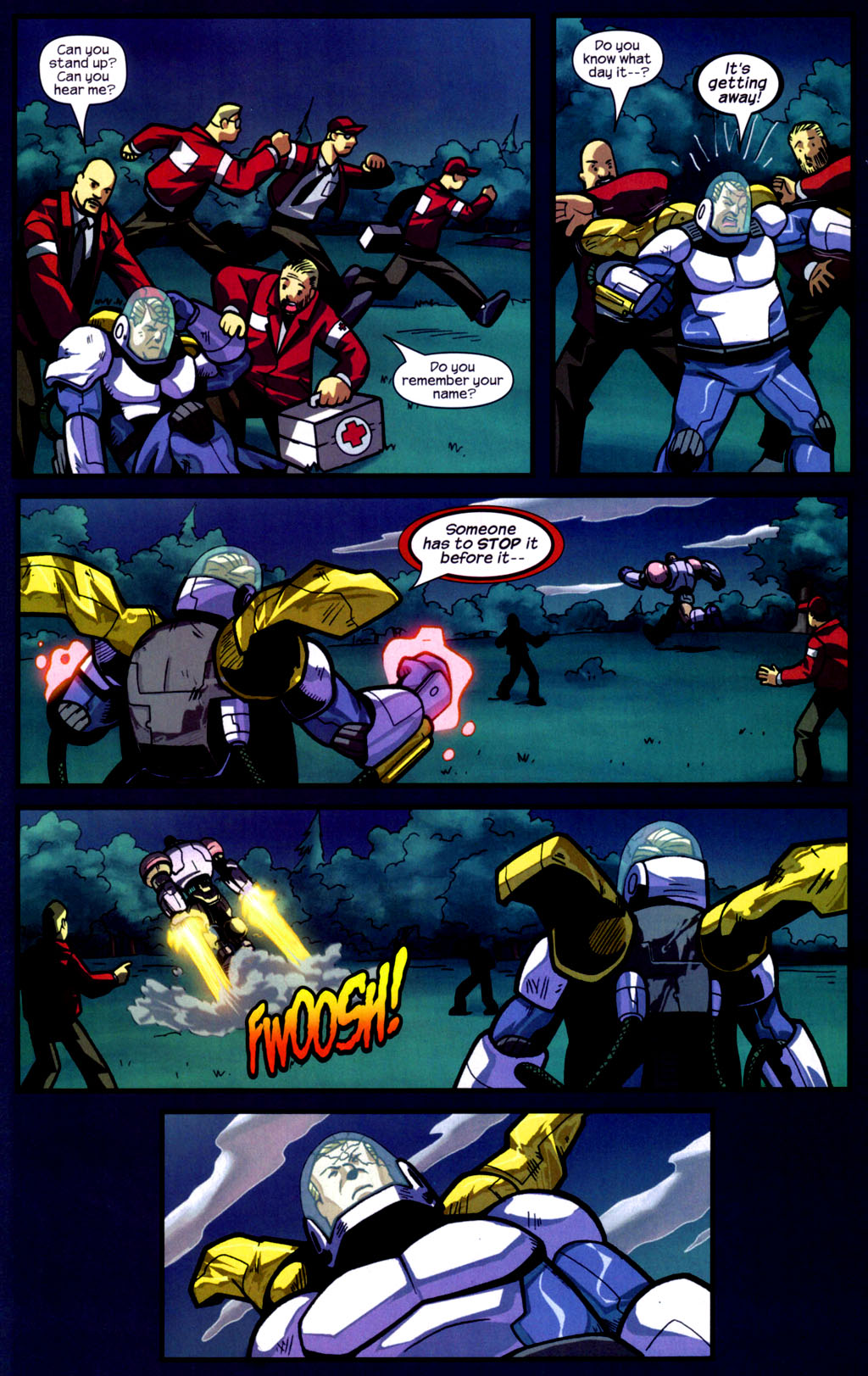 Read online Sentinel comic -  Issue #9 - 17
