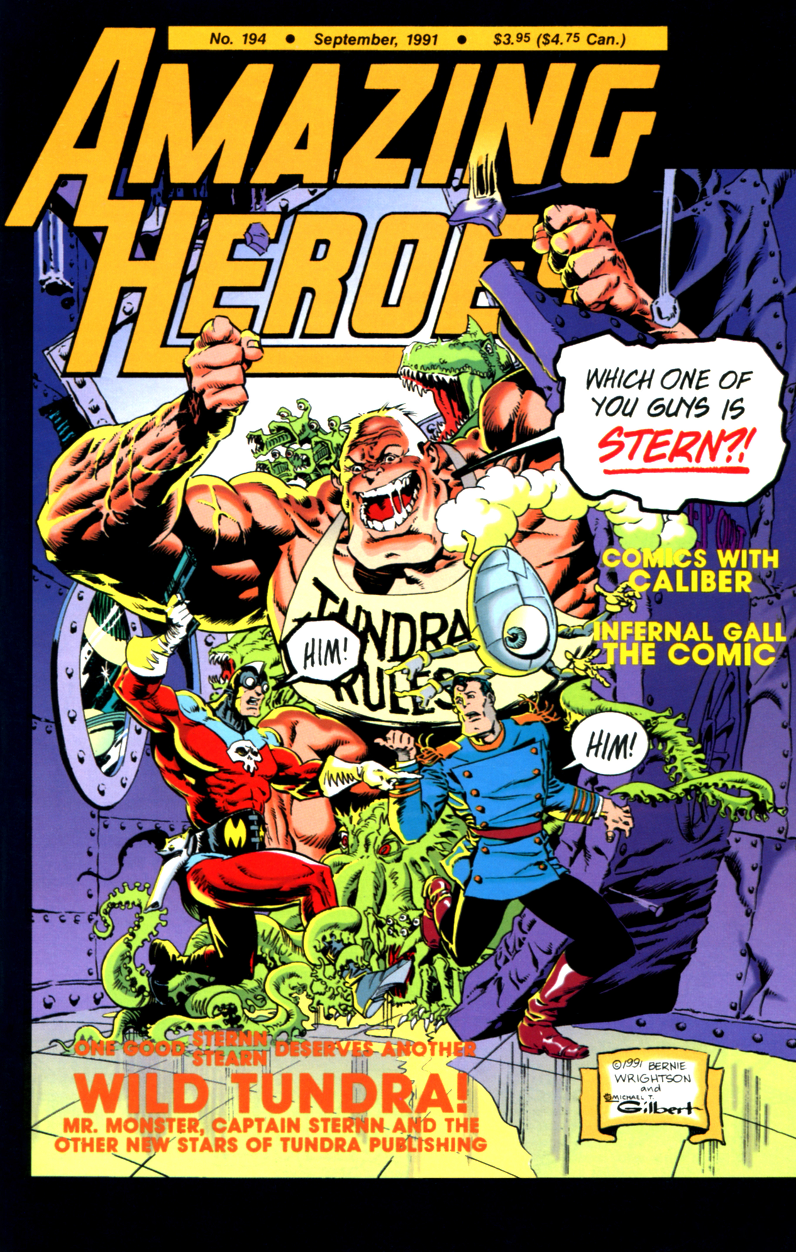 Read online Amazing Heroes comic -  Issue #194 - 1