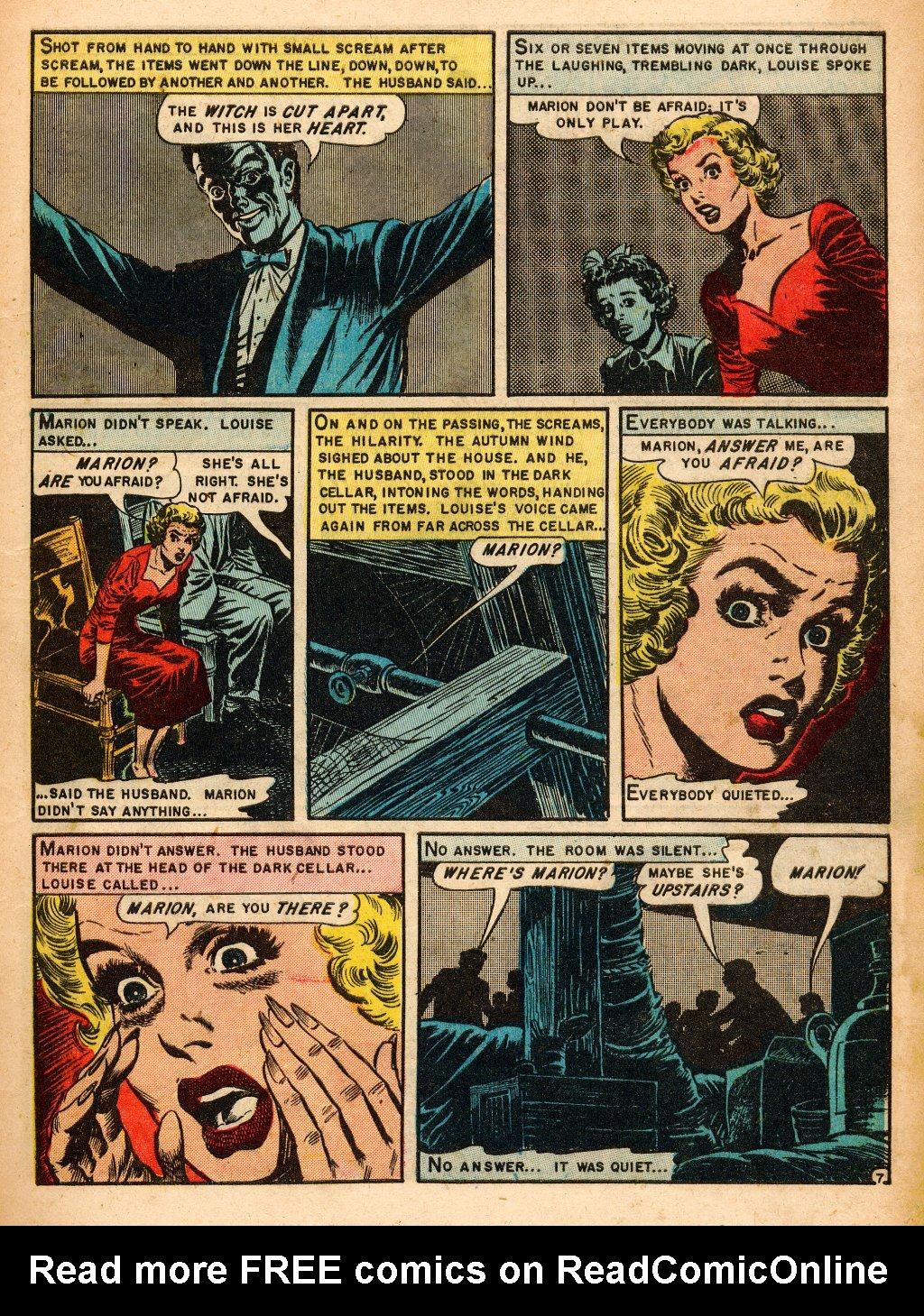 Read online Shock SuspenStories comic -  Issue #9 - 9