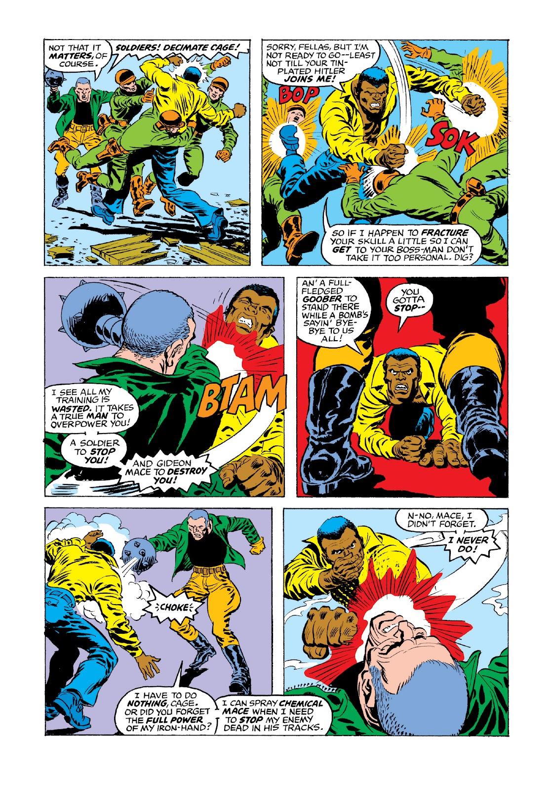 Read online Marvel Masterworks: Luke Cage, Power Man comic -  Issue # TPB 3 (Part 3) - 75