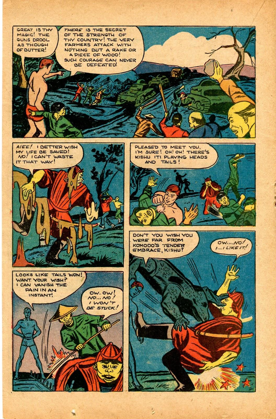 Read online Super-Magician Comics comic -  Issue #33 - 22