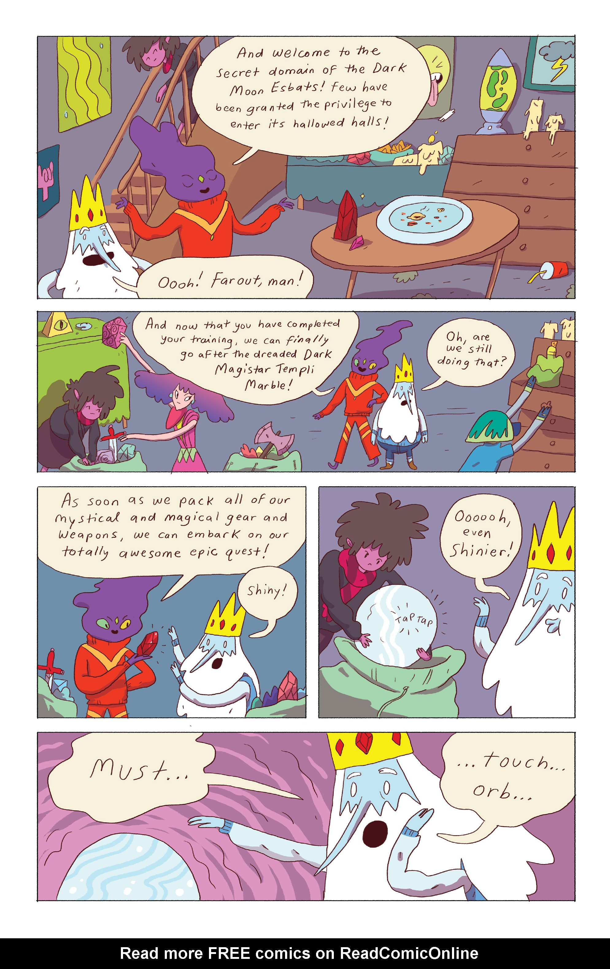 Read online Adventure Time: Ice King comic -  Issue #4 - 19