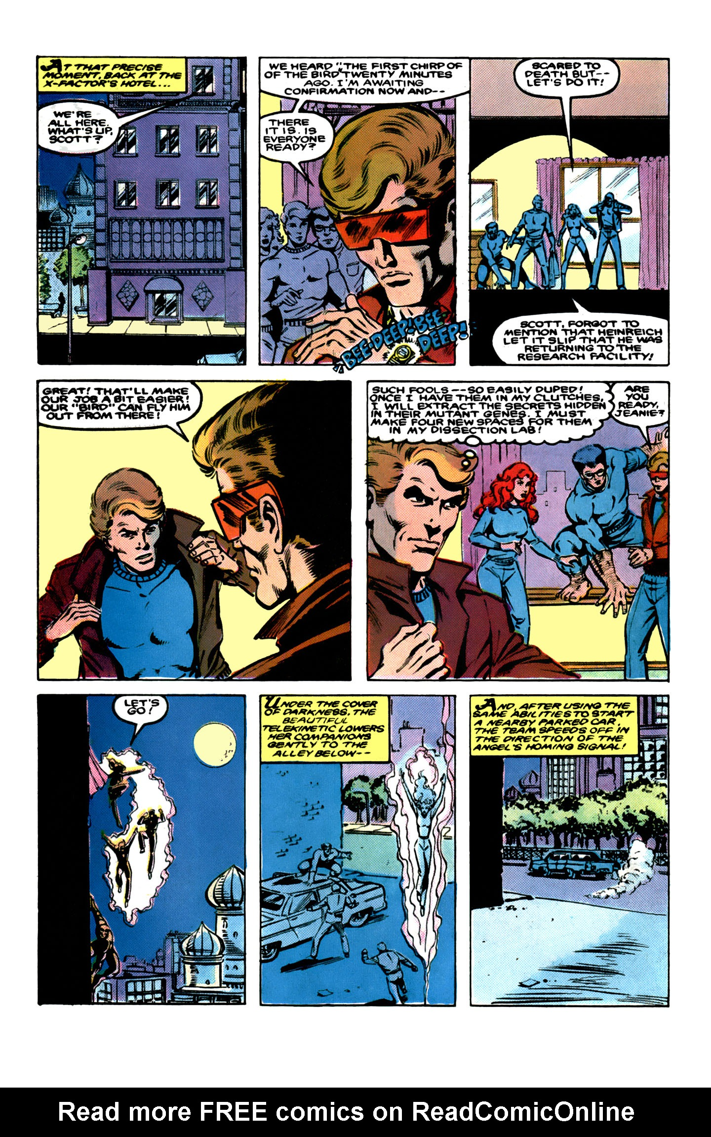 Read online X-Factor (1986) comic -  Issue # _ Annual 1 - 24