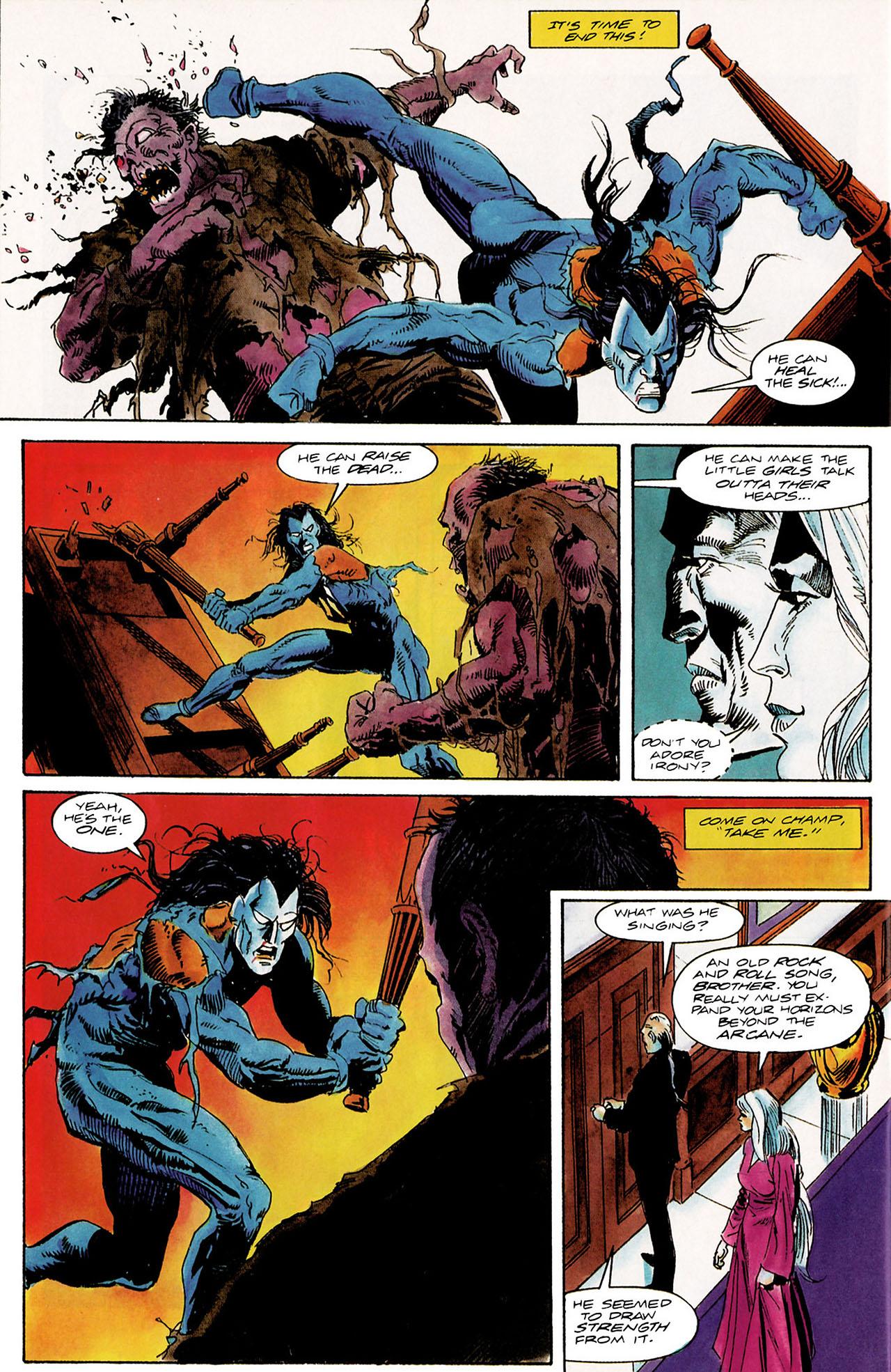 Read online Shadowman (1992) comic -  Issue #10 - 19
