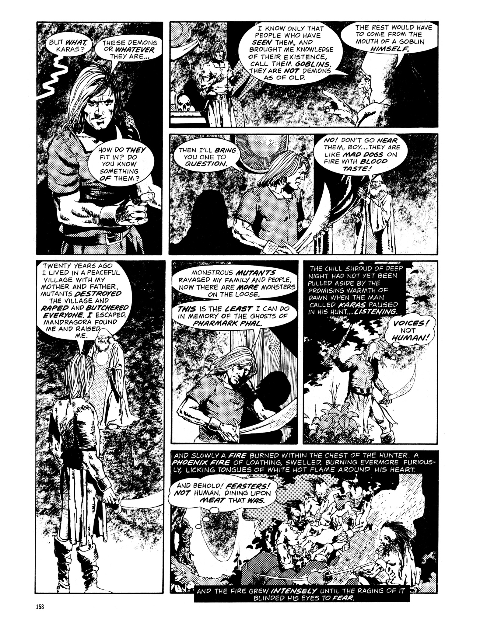 Read online Eerie Archives comic -  Issue # TPB 14 - 159
