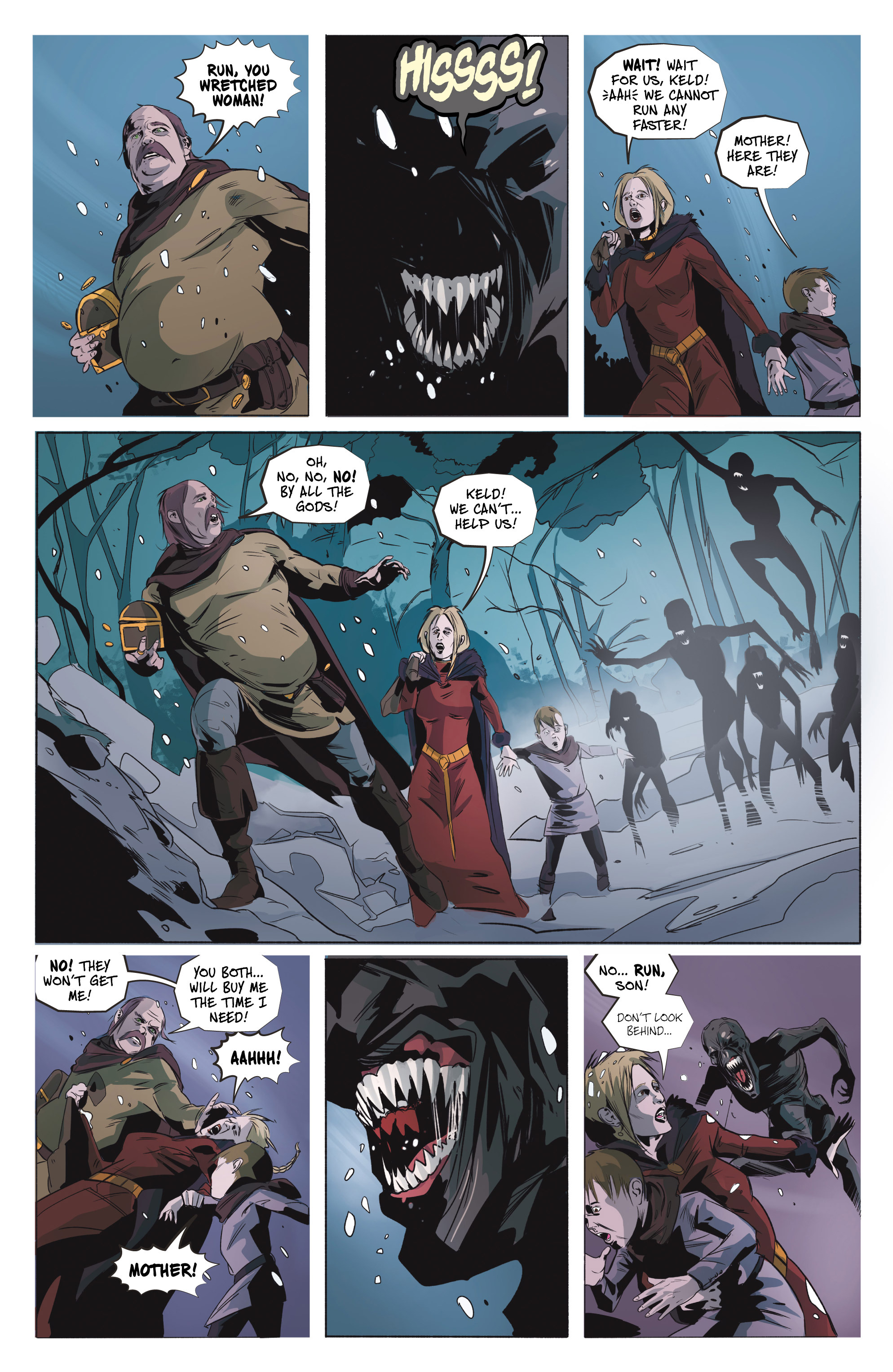 Read online Ghost Wolf comic -  Issue #4 - 8