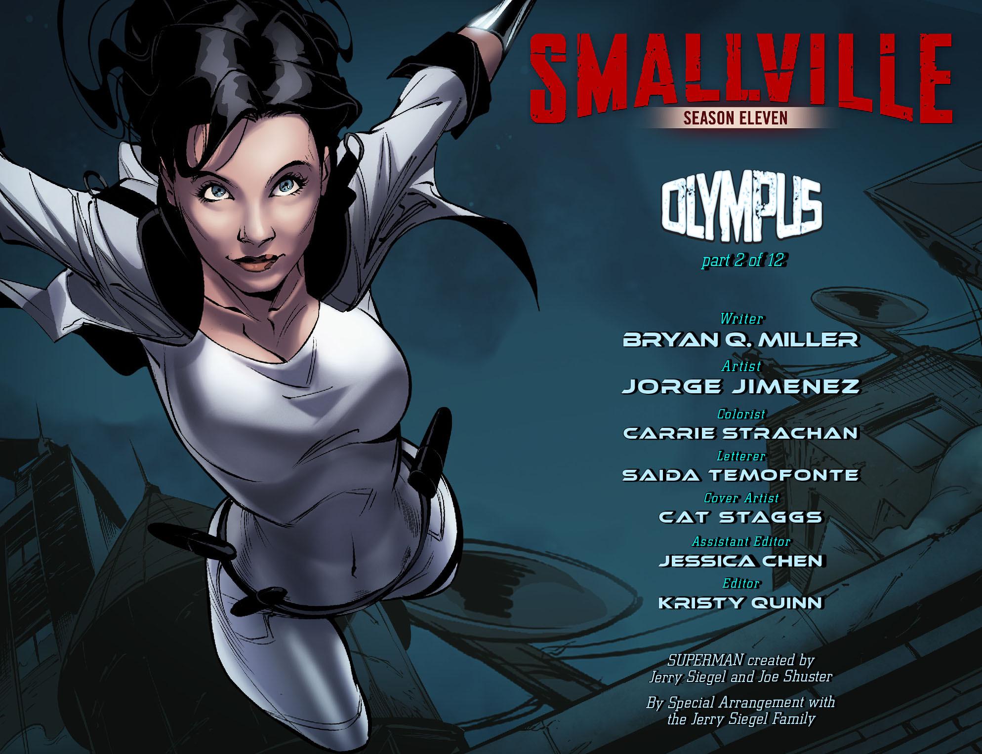 Read online Smallville: Season 11 comic -  Issue #57 - 2