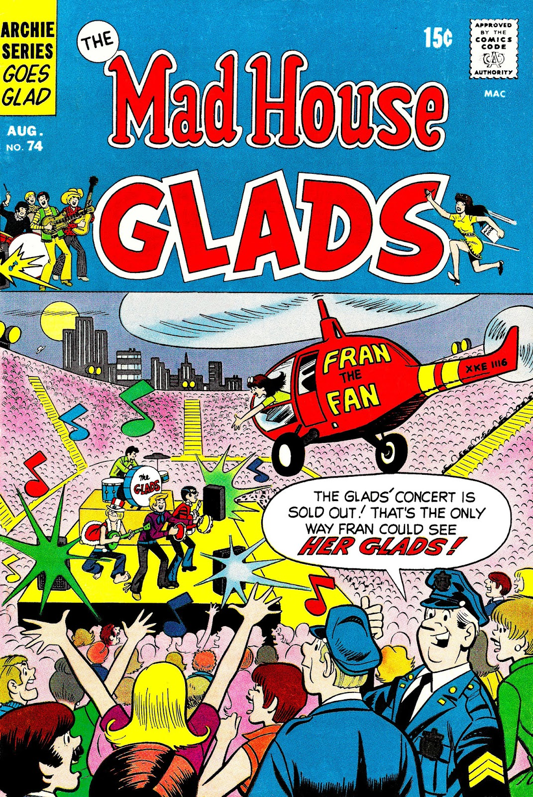 Read online The Mad House Glads comic -  Issue #74 - 1