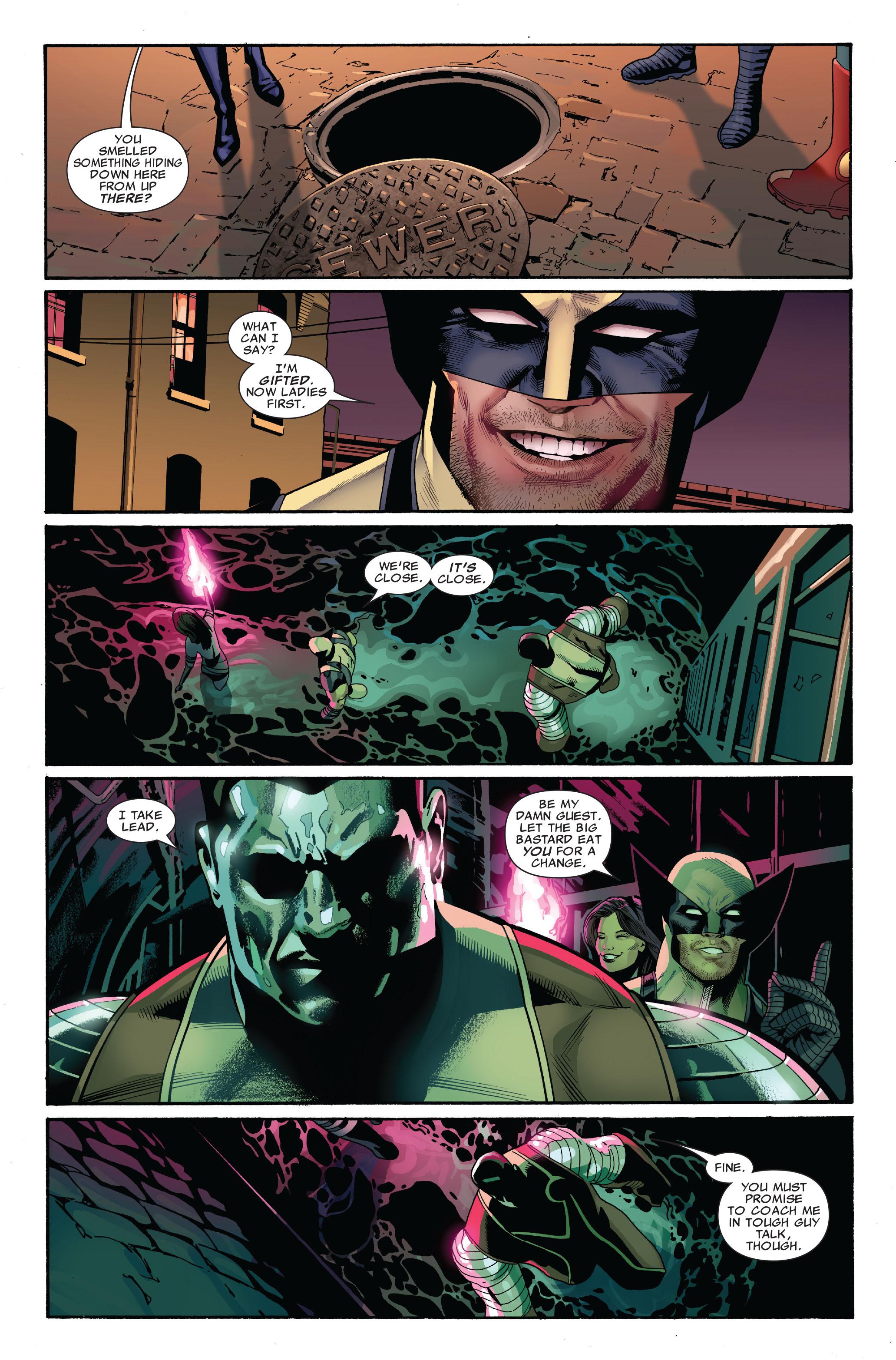 Read online Uncanny X-Men (1963) comic -  Issue #520 - 5