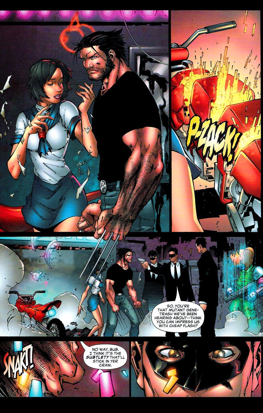 Read online Age of Apocalypse (2005) comic -  Issue #0 - 19