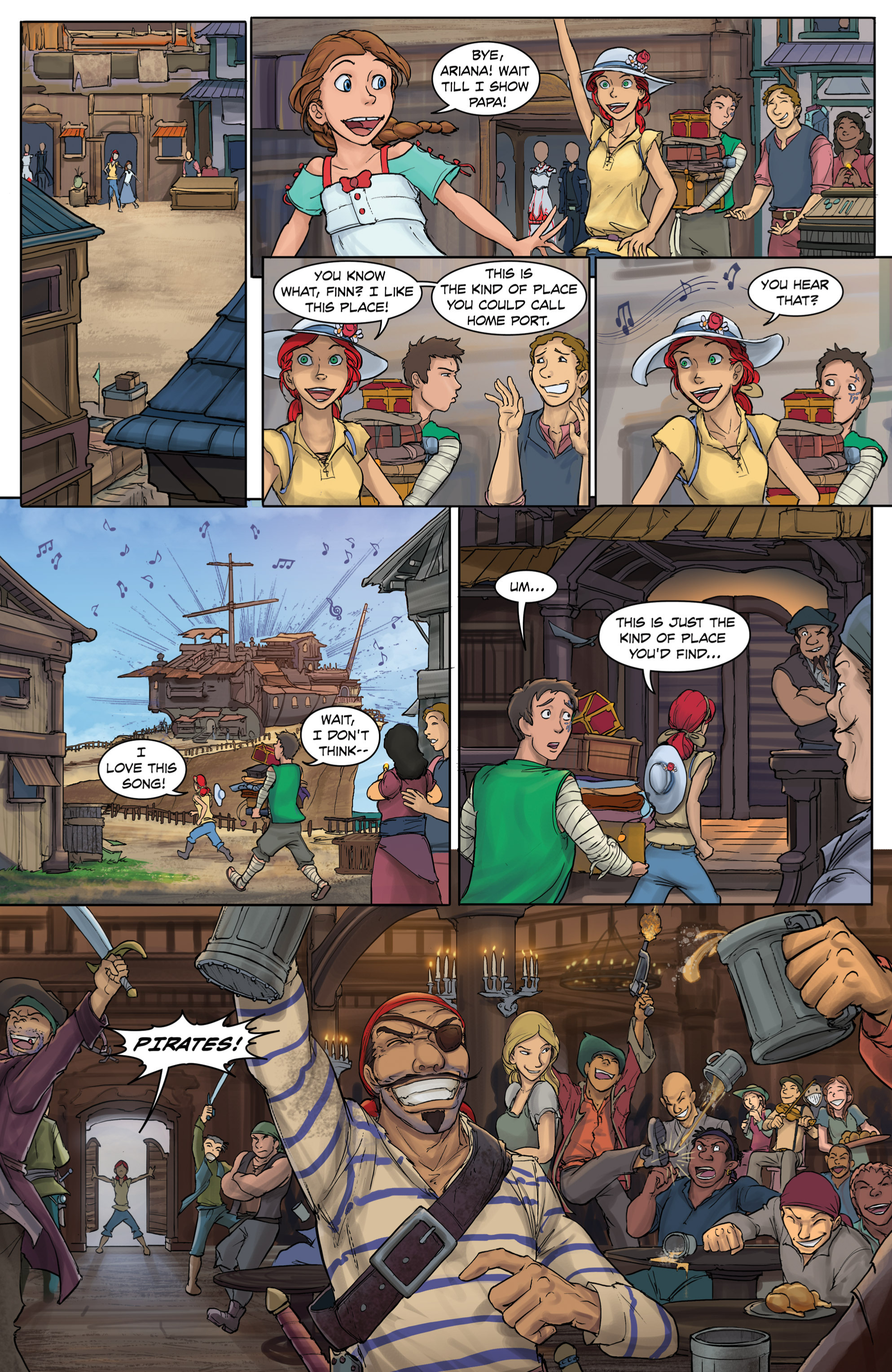 Read online Anne Bonnie comic -  Issue #4 - 18