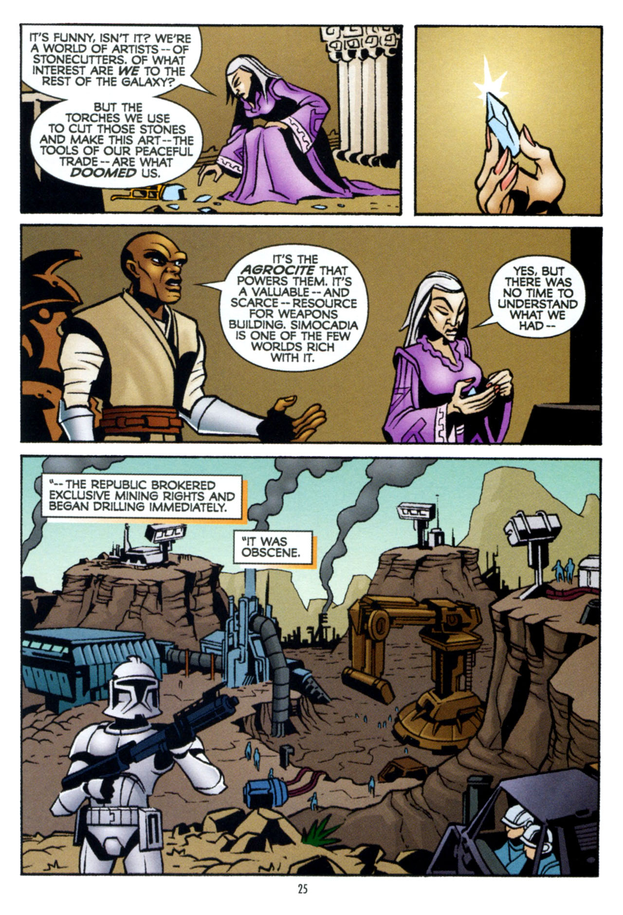 Read online Star Wars: The Clone Wars - The Colossus of Destiny comic -  Issue # Full - 26