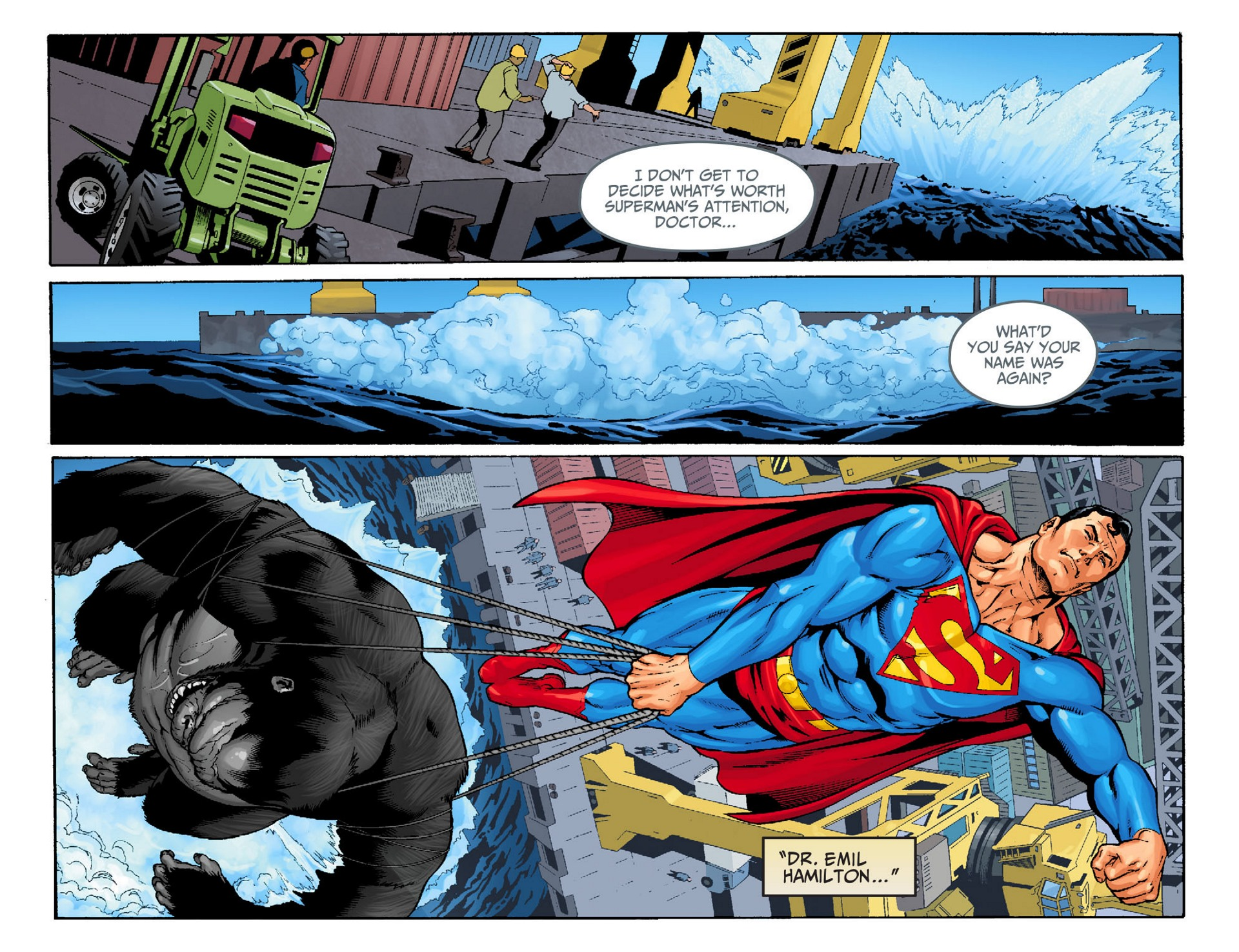 Read online Adventures of Superman [I] comic -  Issue #22 - 11