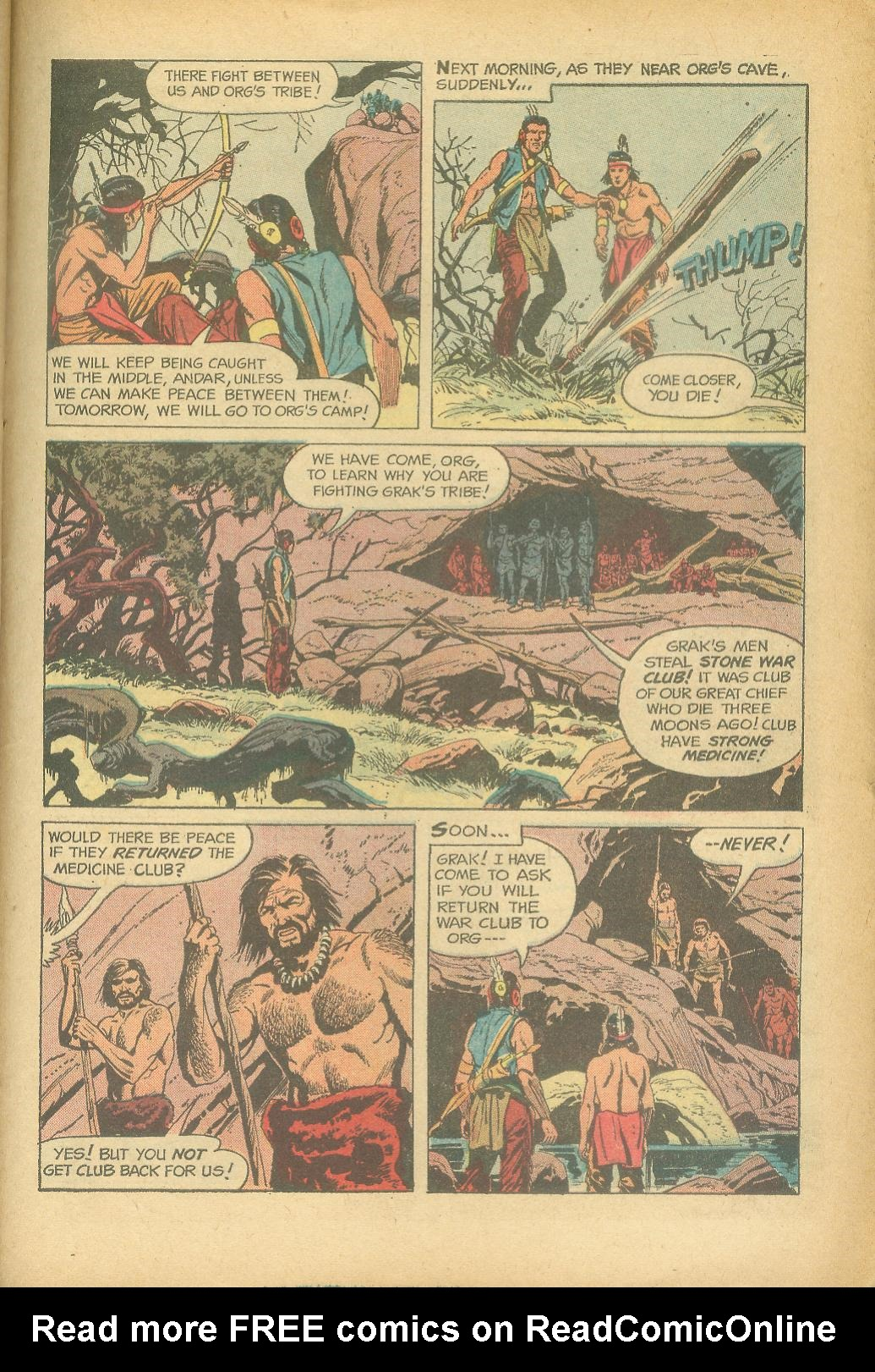 Read online Turok, Son of Stone comic -  Issue #24 - 27