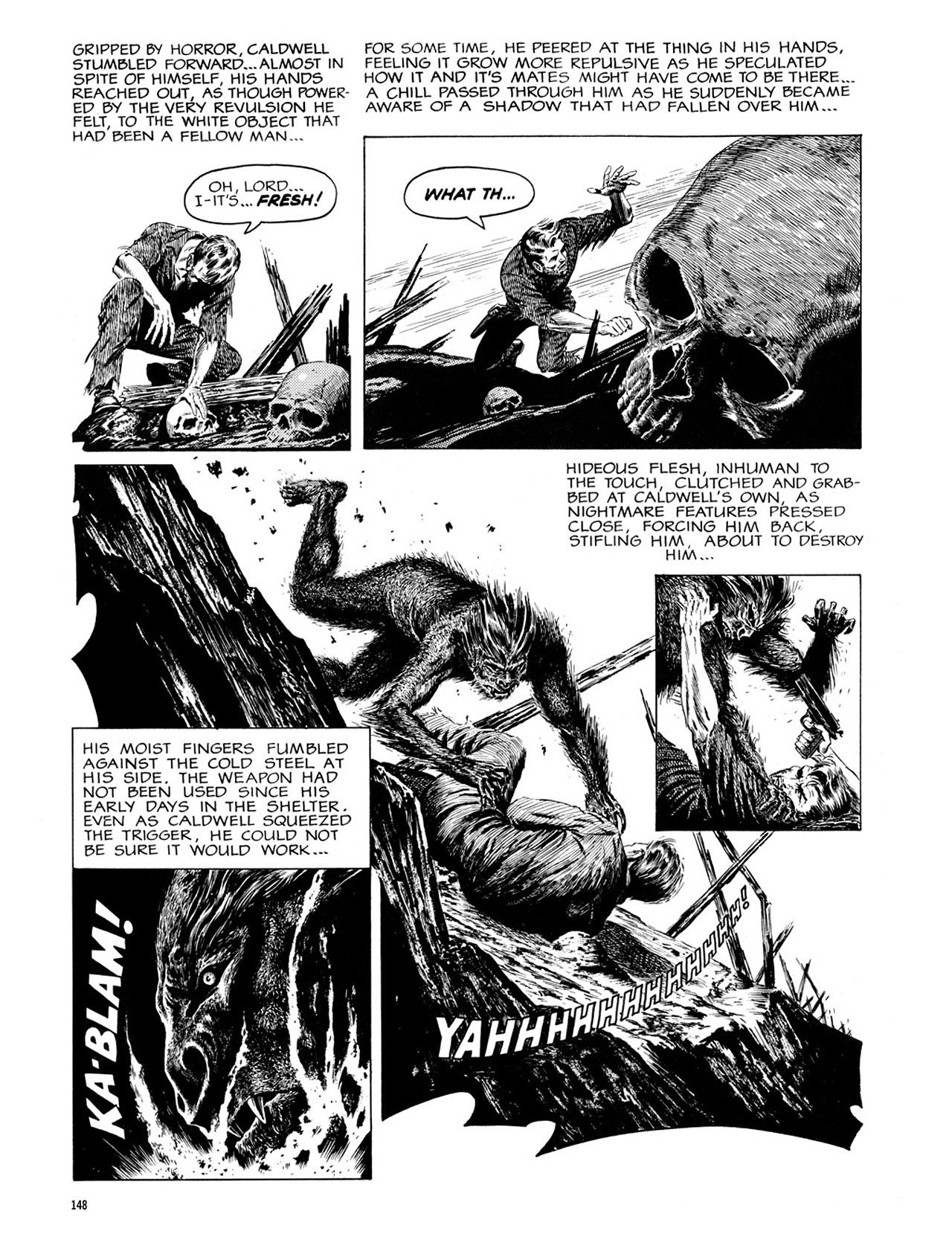 Read online Eerie Archives comic -  Issue # TPB 2 - 149