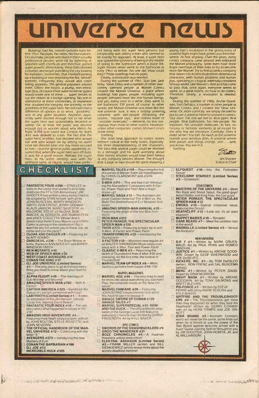 Read online Justice (1986) comic -  Issue #1 - 26