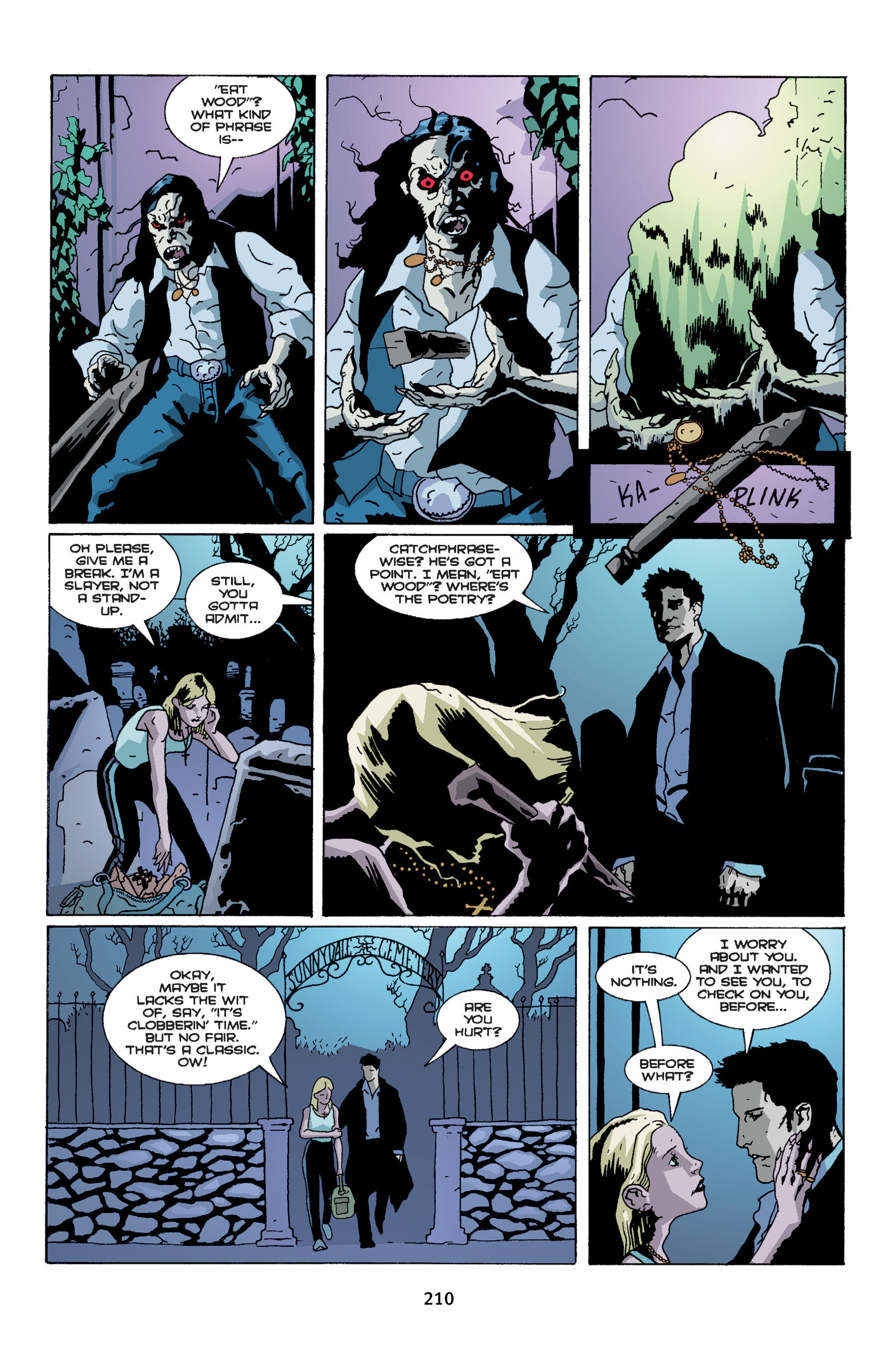 Read online Buffy the Vampire Slayer: Omnibus comic -  Issue # TPB 4 - 208