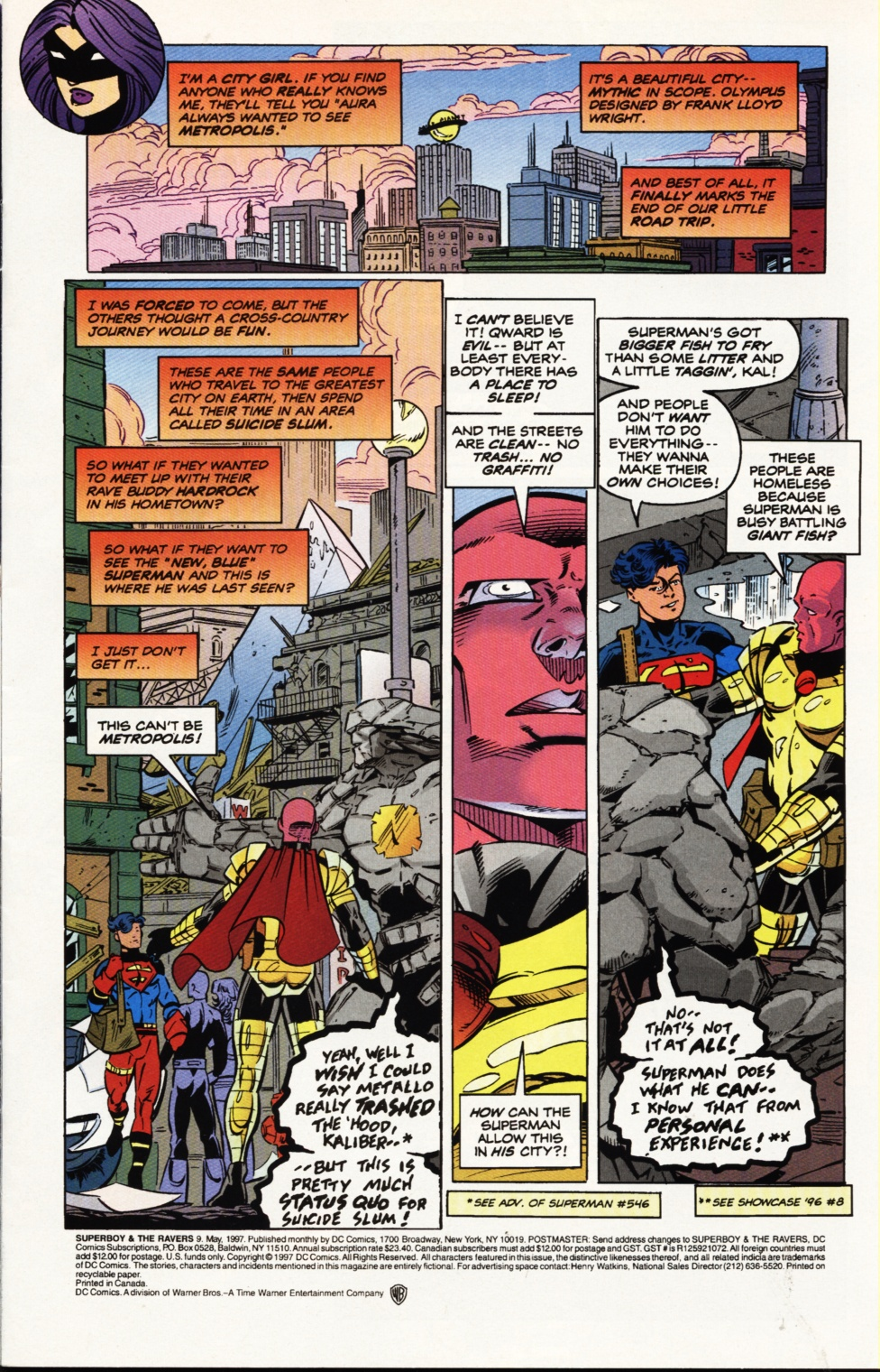 Read online Superboy & The Ravers comic -  Issue #9 - 2