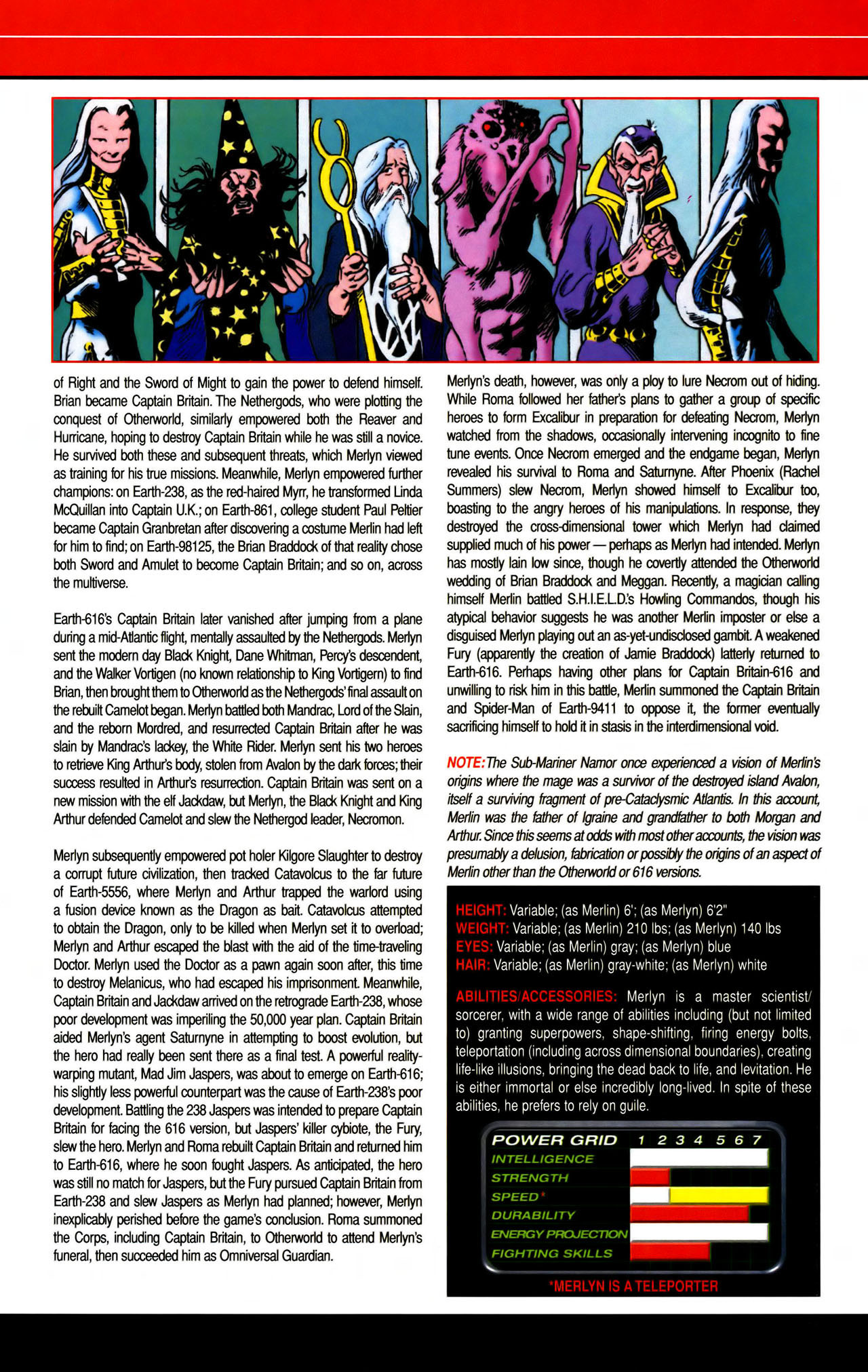 Read online All-New Official Handbook of the Marvel Universe A to Z comic -  Issue #7 - 30