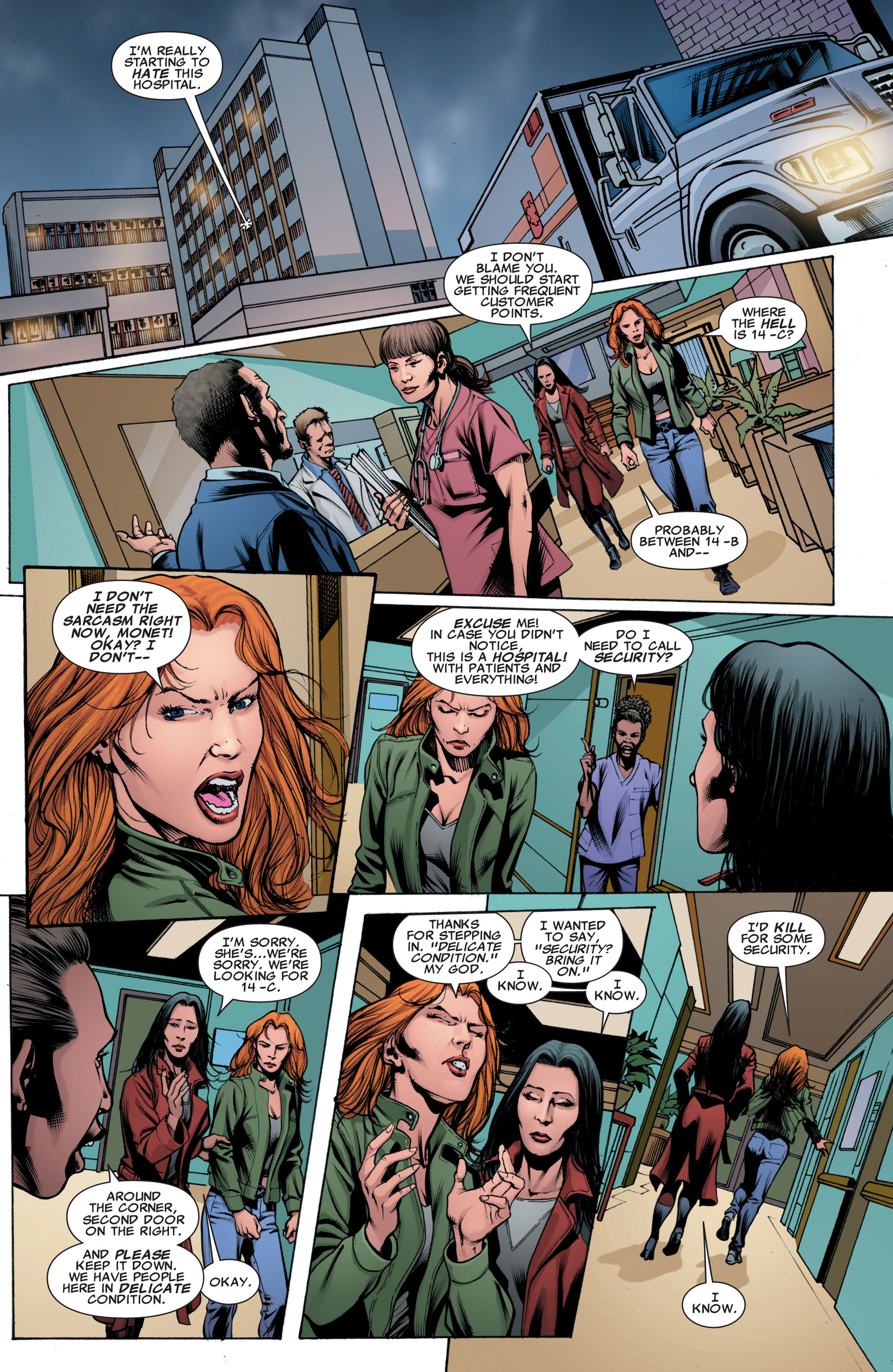 Read online X-Factor (2006) comic -  Issue #43 - 16