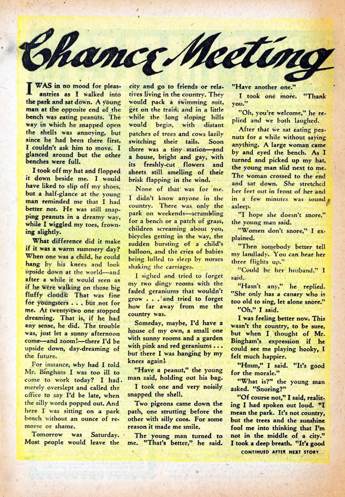 Love Romances (1949) issue 47 - Page 18