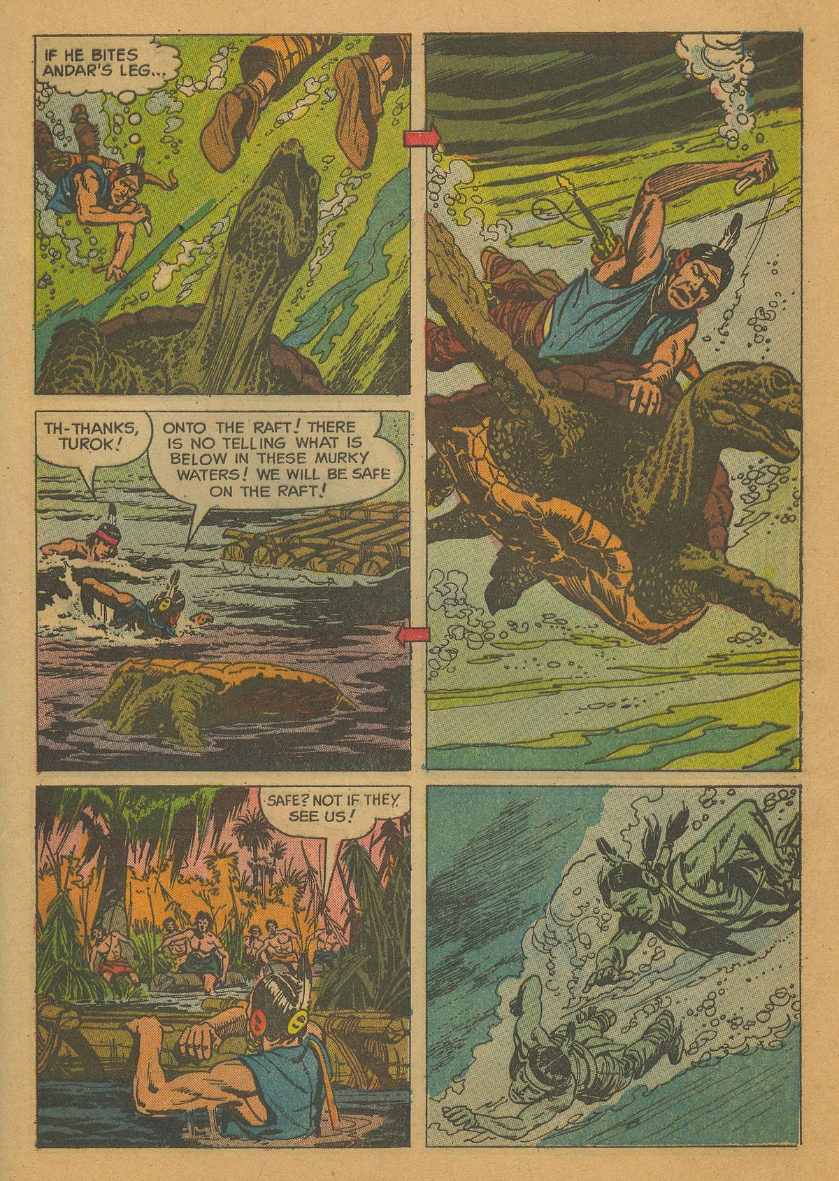 Read online Turok, Son of Stone comic -  Issue #26 - 28