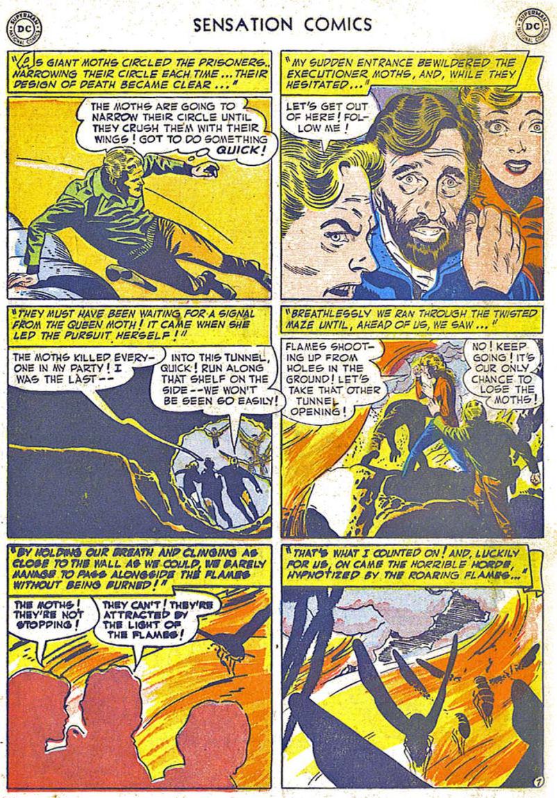 Read online Sensation (Mystery) Comics comic -  Issue #108 - 19