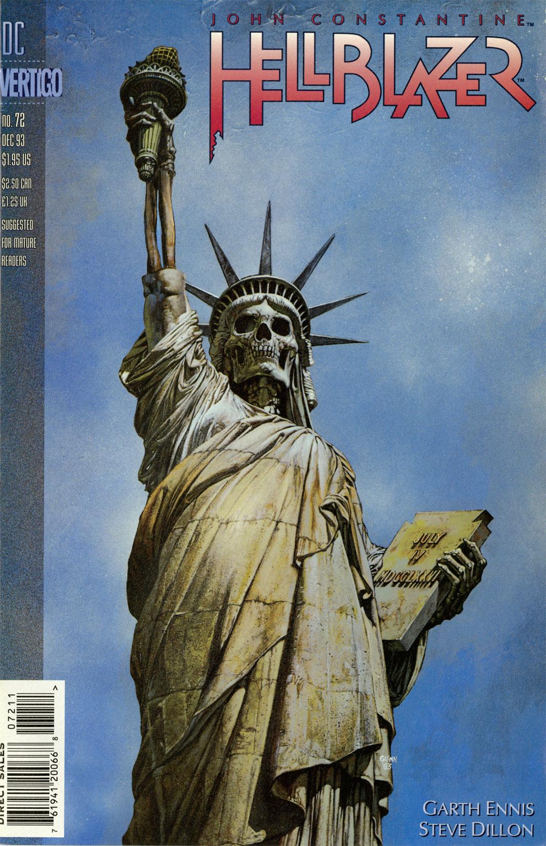 Hellblazer issue 72 - Page 1