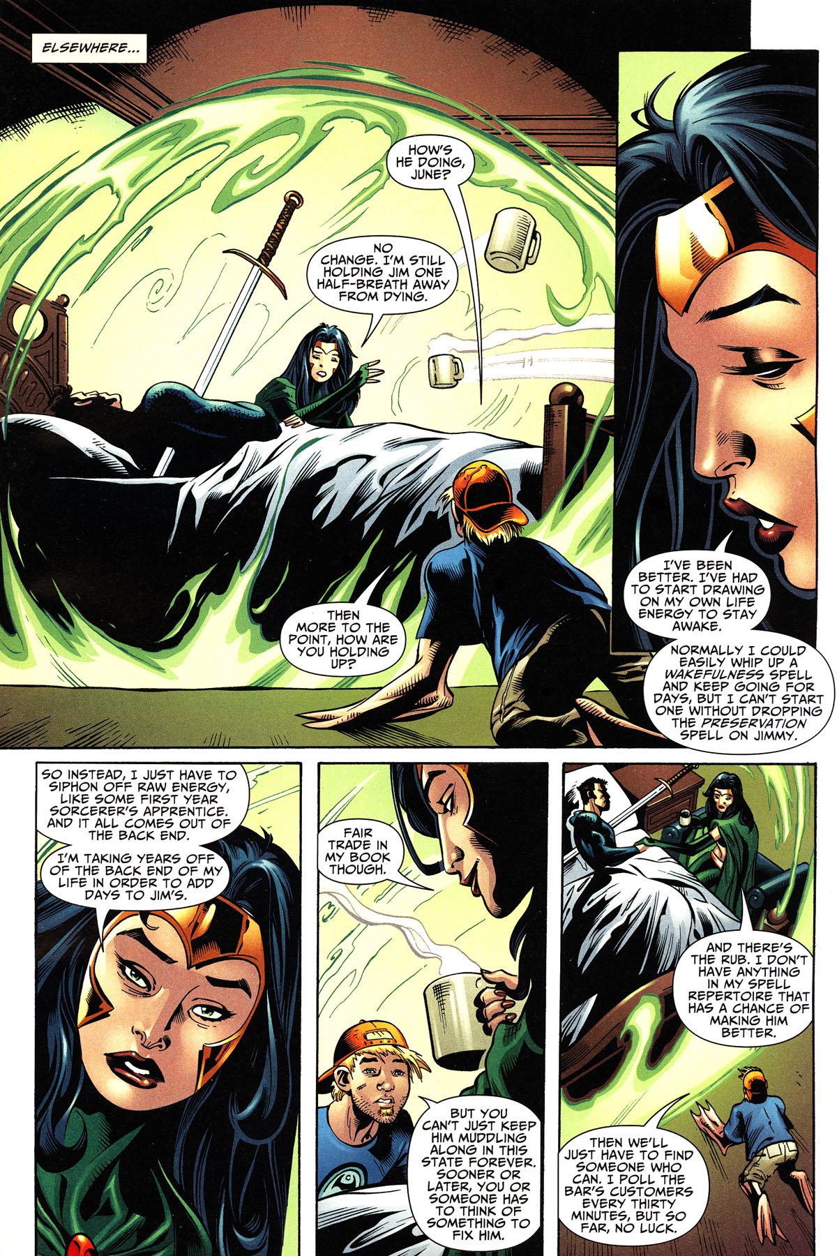 Read online Shadowpact comic -  Issue #11 - 15