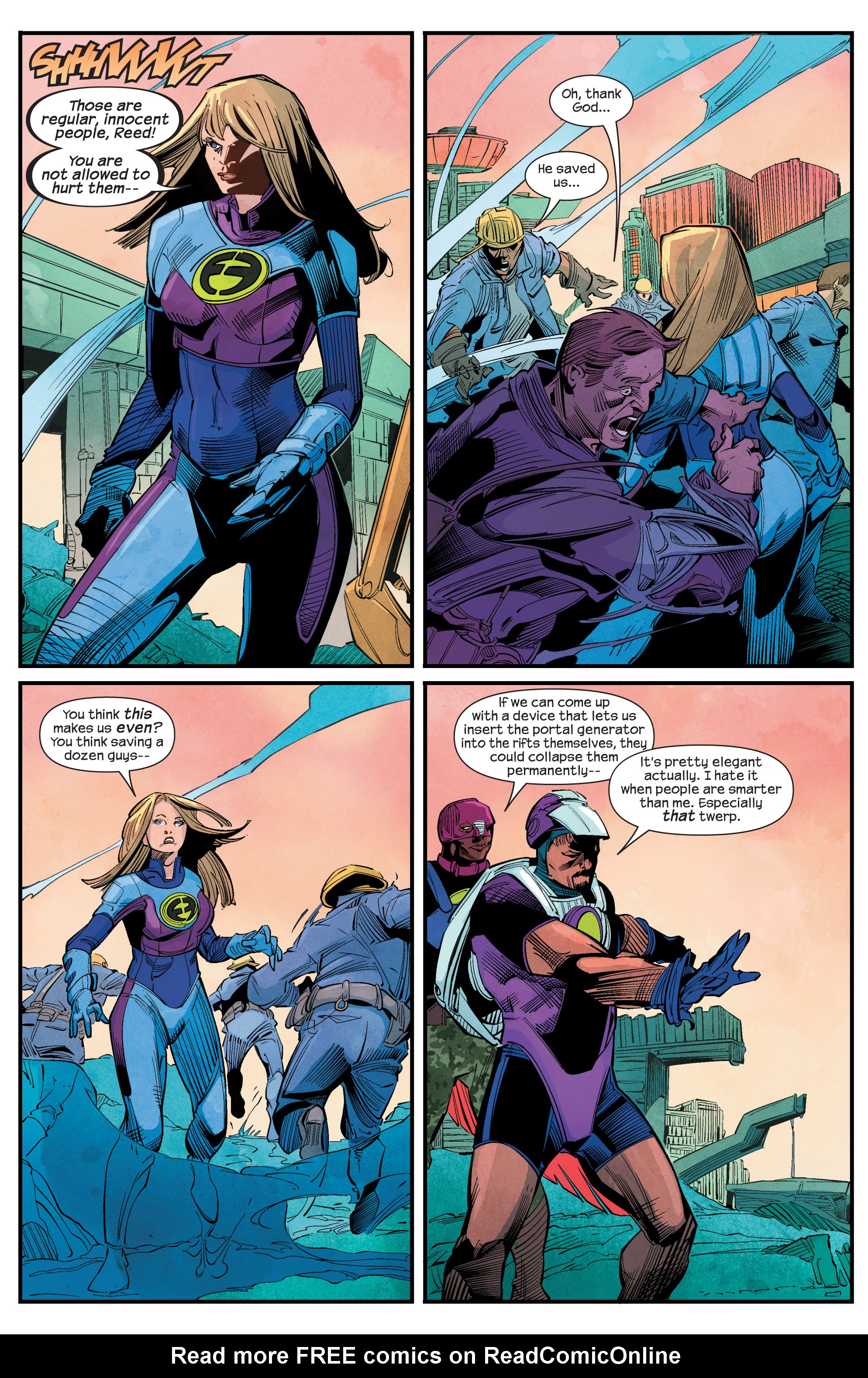Read online Ultimate FF comic -  Issue #1 - 19