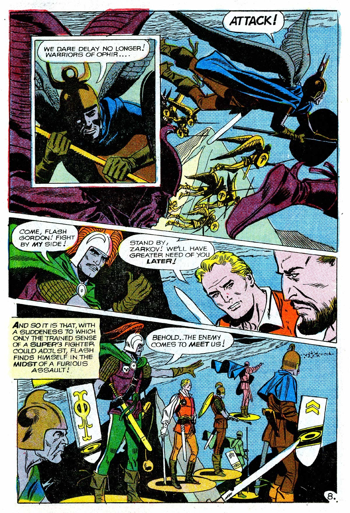 Flash Gordon (1969) issue 16 - Page 9