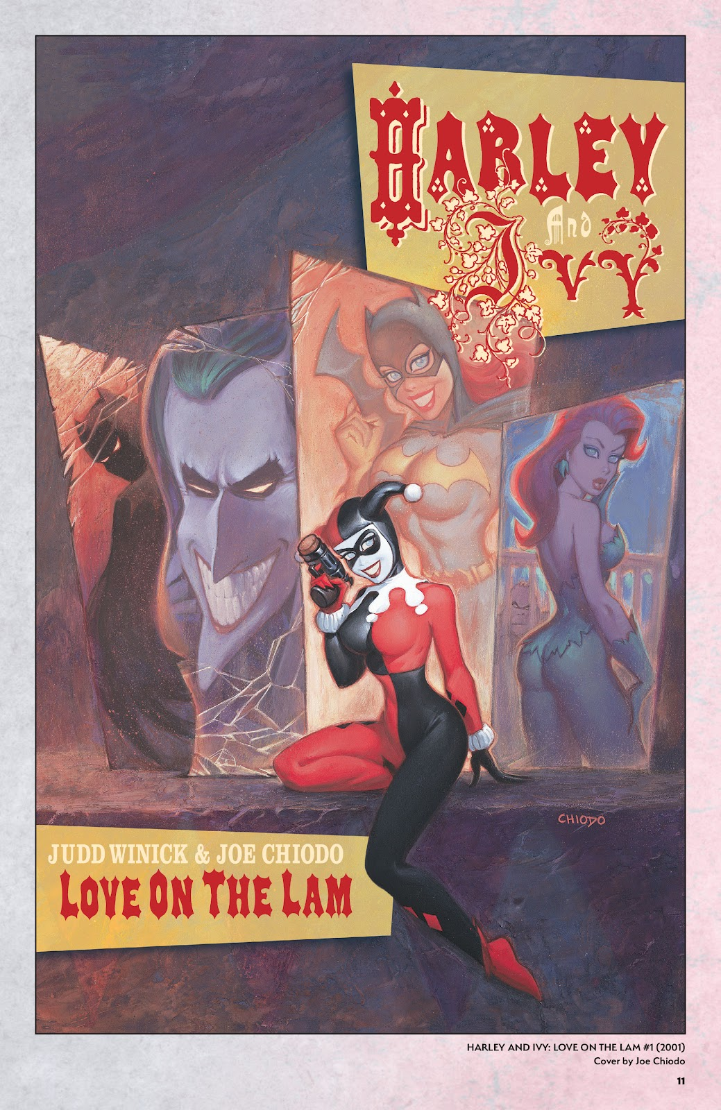 Read online Harley Quinn: A Rogue's Gallery―The Deluxe Cover Art Collection comic -  Issue # TPB (Part 1) - 10