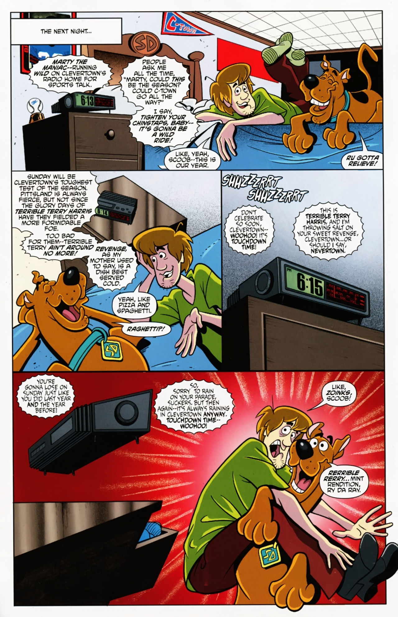 Read online Scooby-Doo: Where Are You? comic -  Issue #7 - 4
