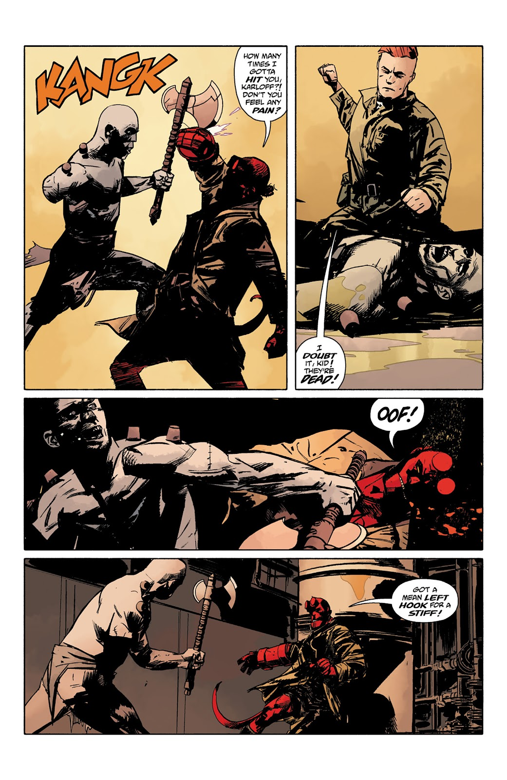 Read online Hellboy and the B.P.R.D. comic -  Issue # _TPB - 89