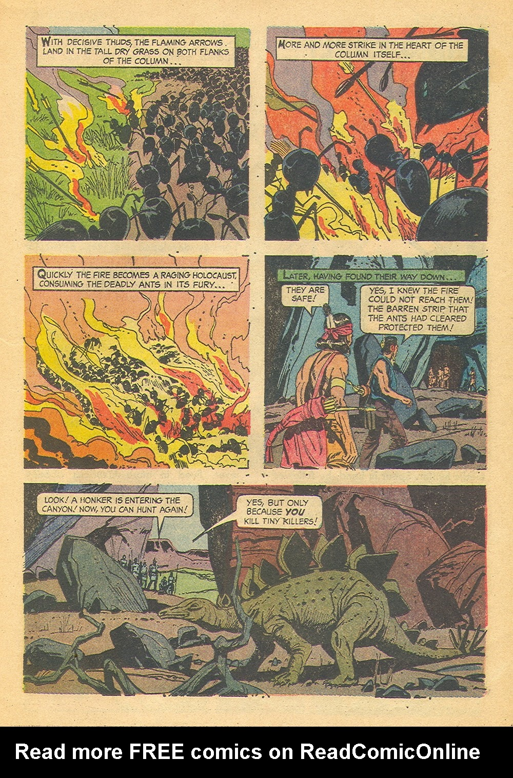 Read online Turok, Son of Stone comic -  Issue #42 - 17