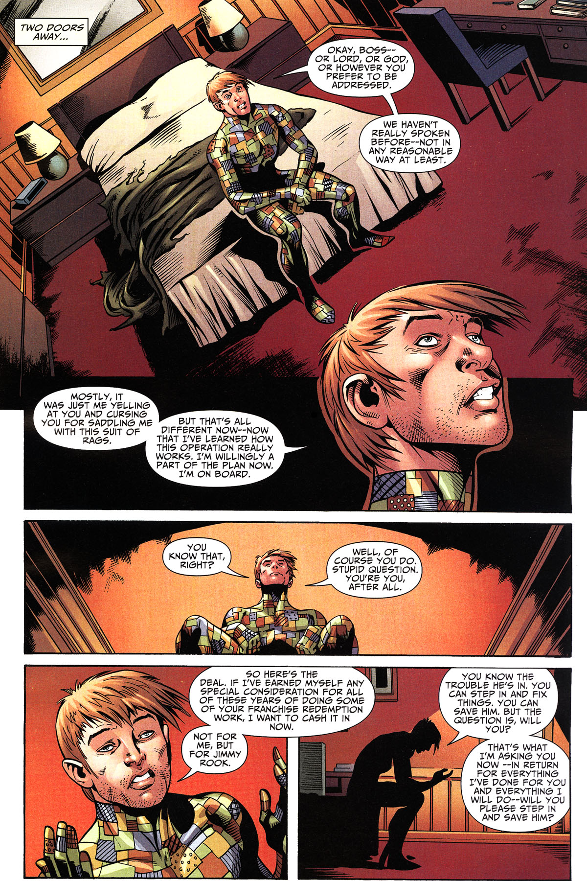 Read online Shadowpact comic -  Issue #11 - 16