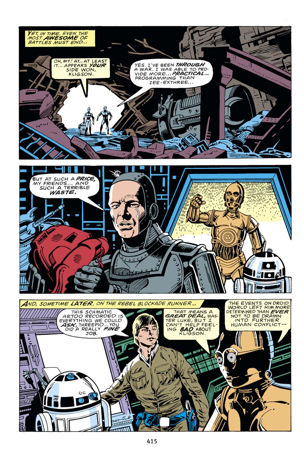Read online Star Wars Omnibus comic -  Issue # Vol. 14 - 410