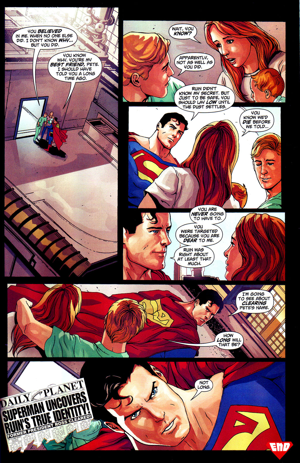 Read online Adventures of Superman (1987) comic -  Issue #647 - 23