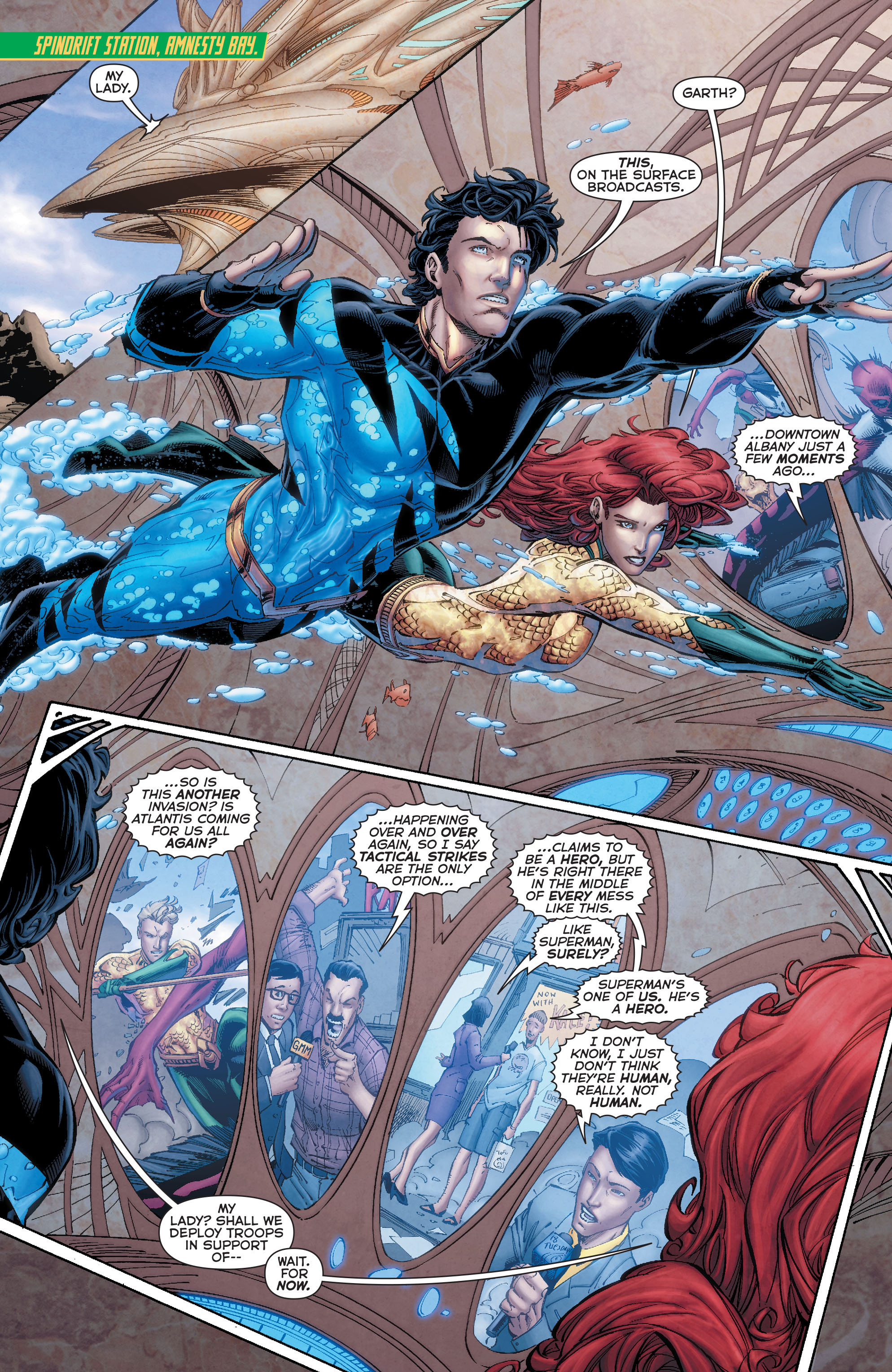 Read online Aquaman (2011) comic -  Issue #50 - 24