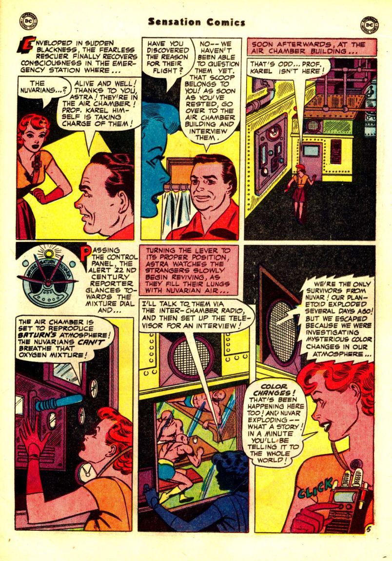 Read online Sensation (Mystery) Comics comic -  Issue #99 - 33