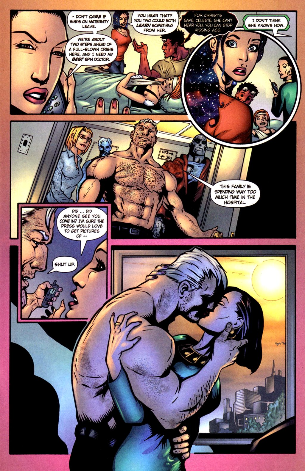 Read online Noble Causes (2002) comic -  Issue #4 - 17