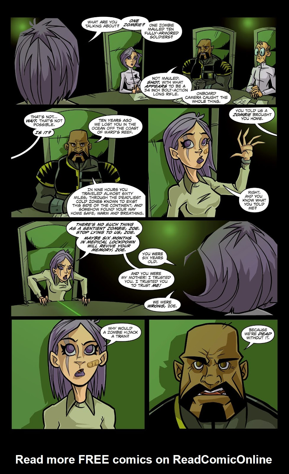 Read online Xombie Reanimated comic -  Issue #1 - 12