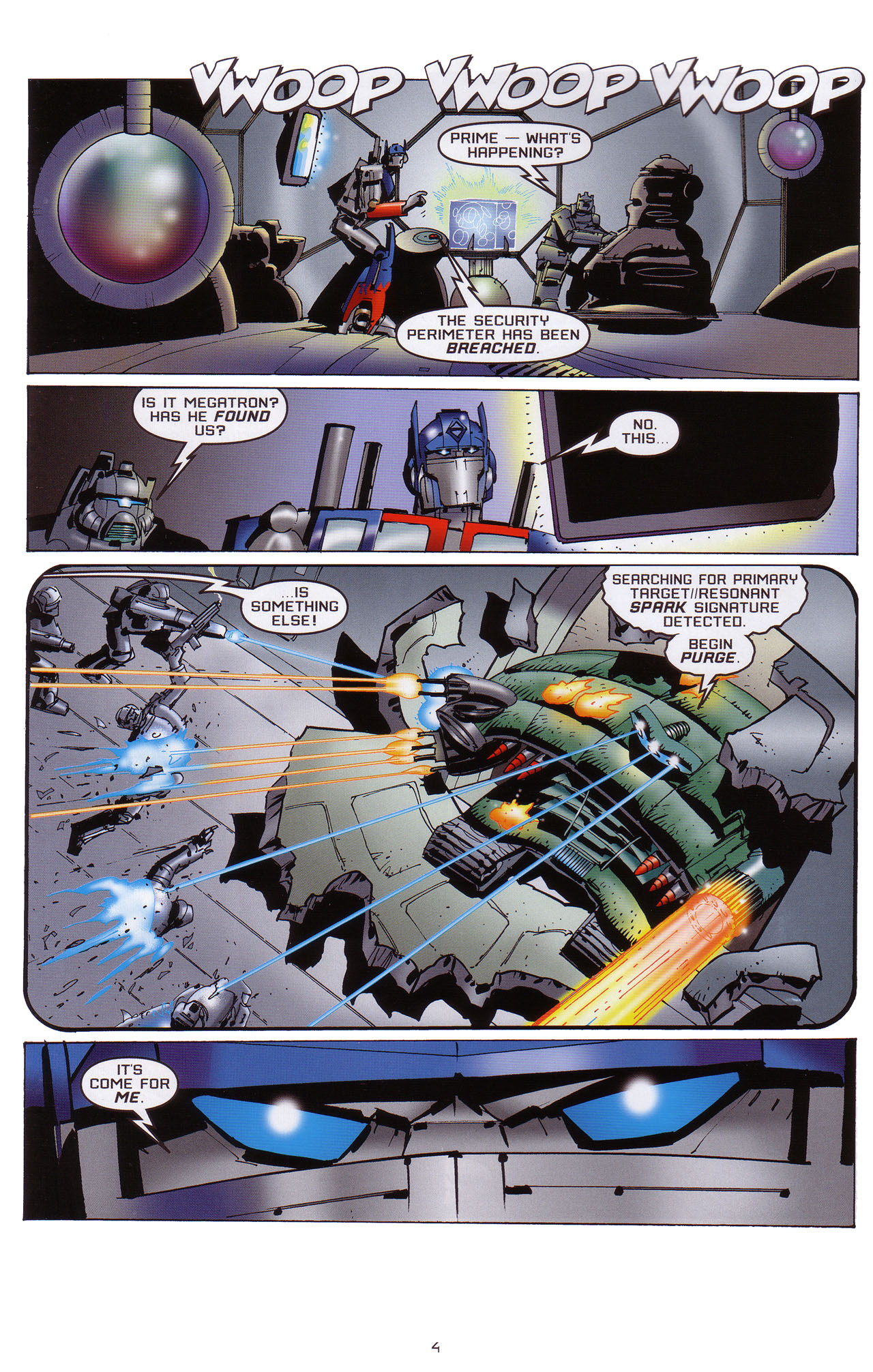 Read online Transformers: Saga of the Allspark comic -  Issue #1 - 5