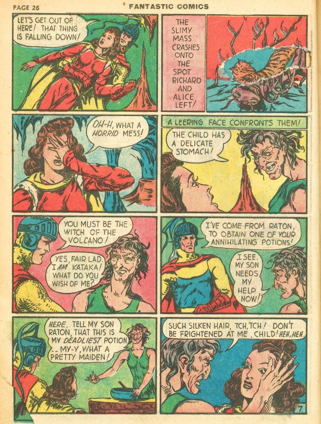 Read online Fantastic Comics comic -  Issue #12 - 28