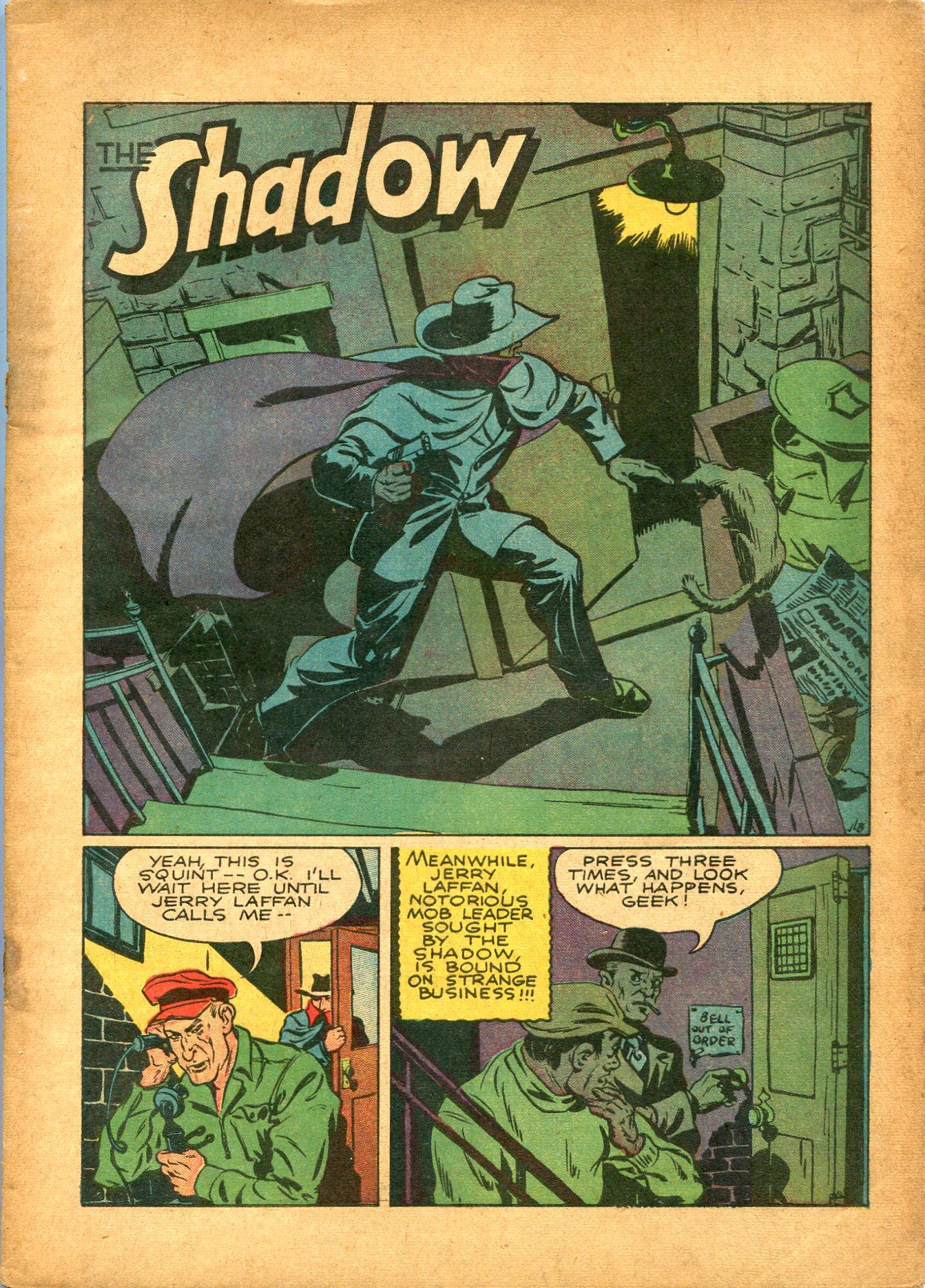 Read online Shadow Comics comic -  Issue #8 - 3